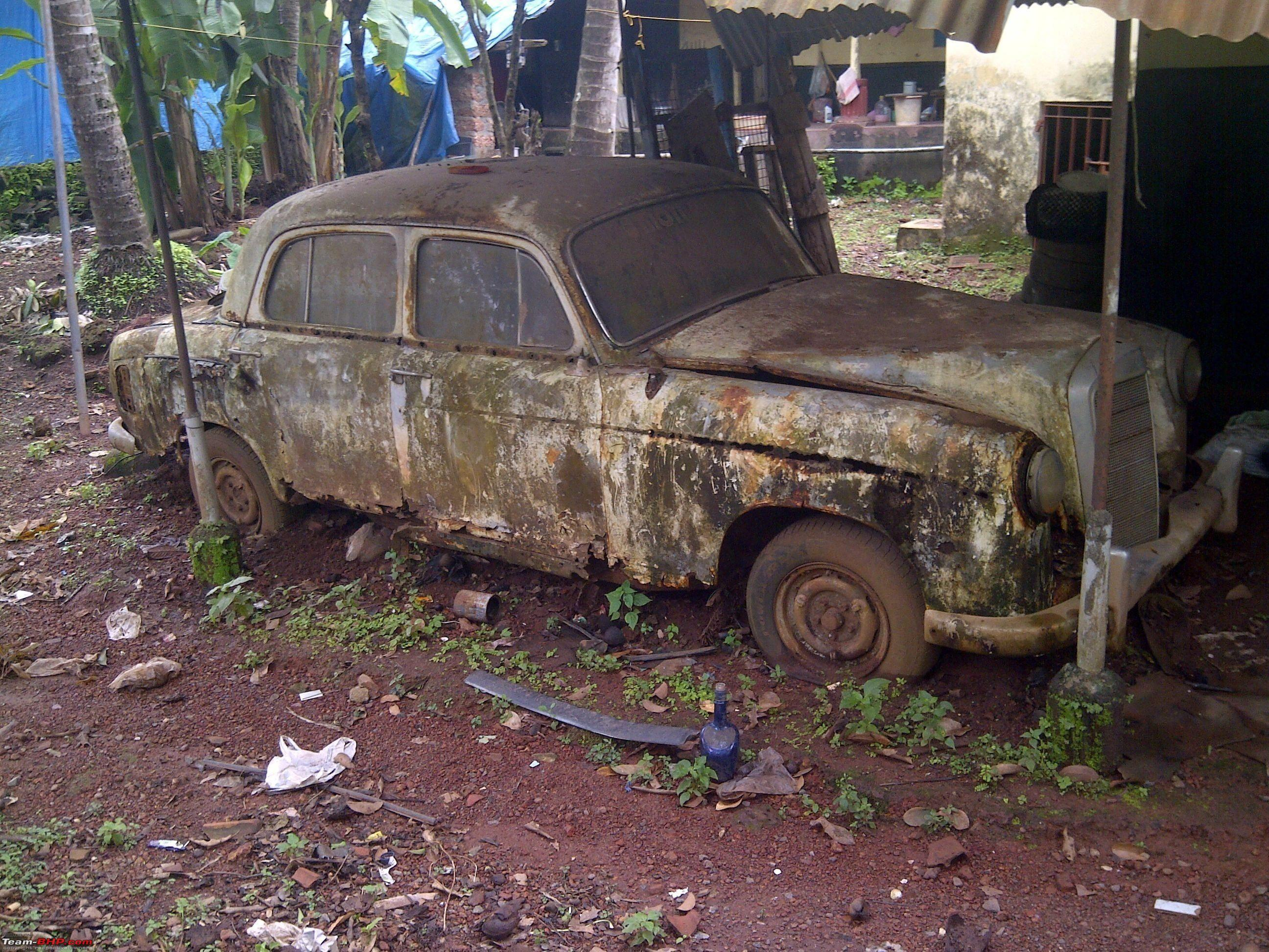 Rust In Pieces... Pics of Disintegrating Classic & Vintage Cars ...