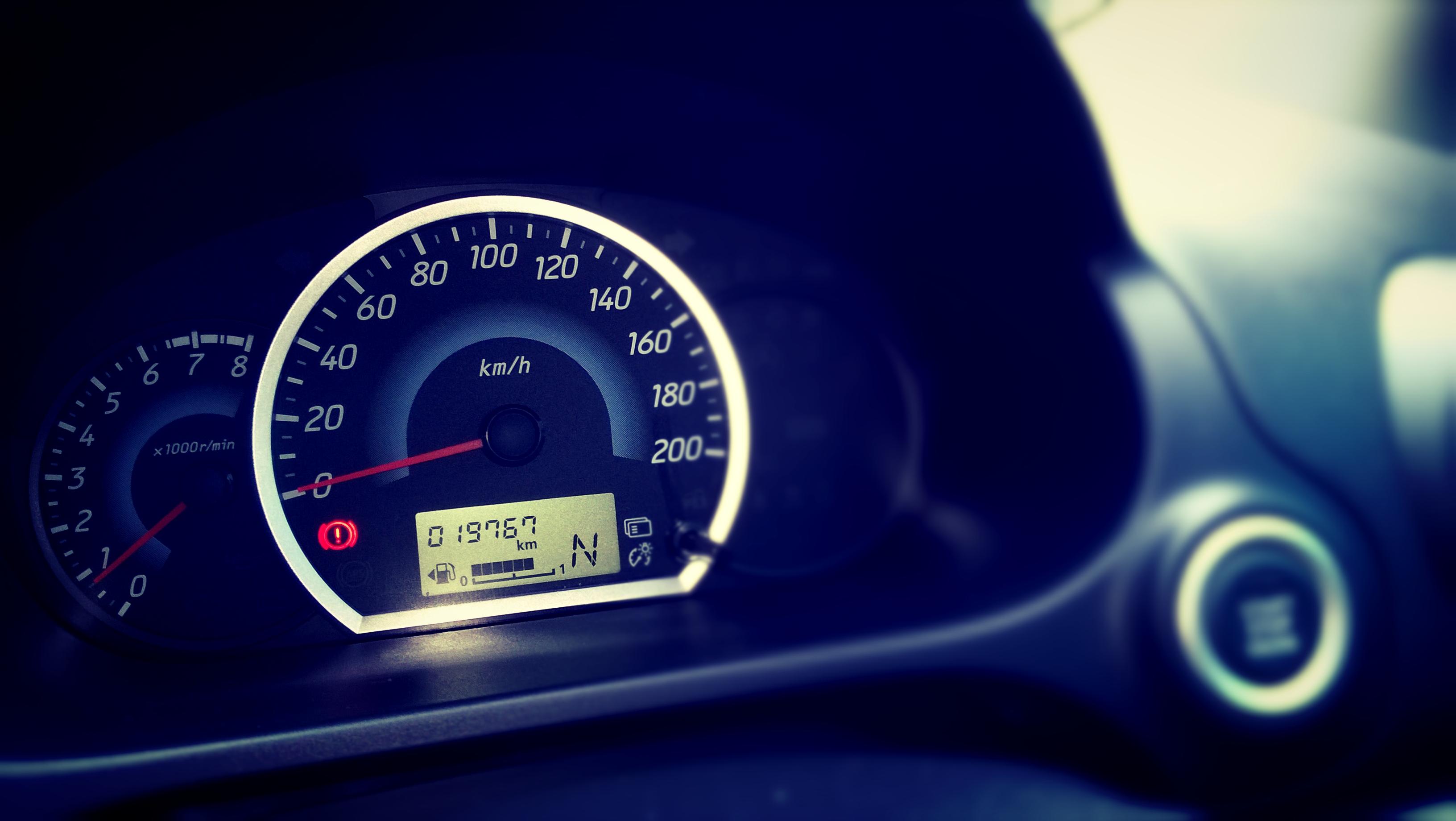Free photo: Car Speedometer - Modern, Journey, Motoring
