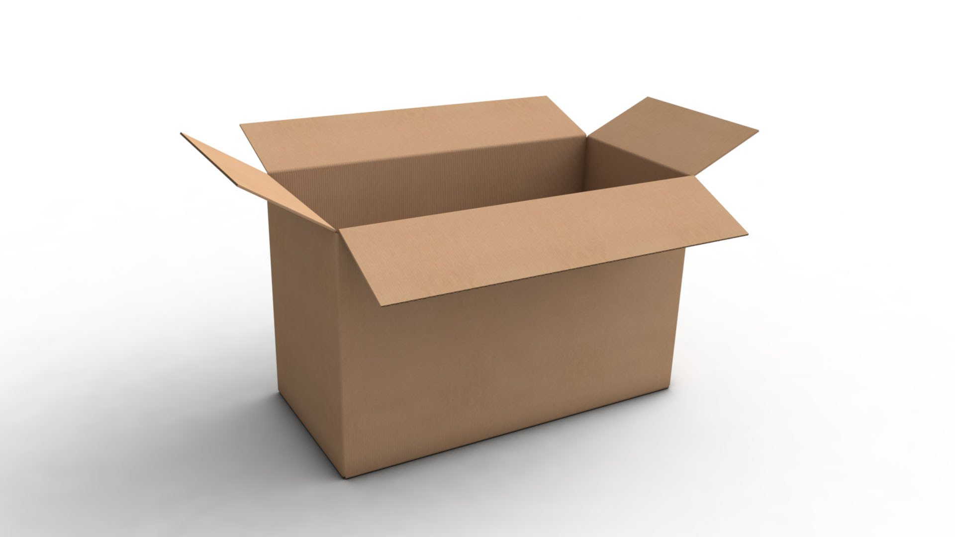 How to Open a Cardboard Box - YouTube