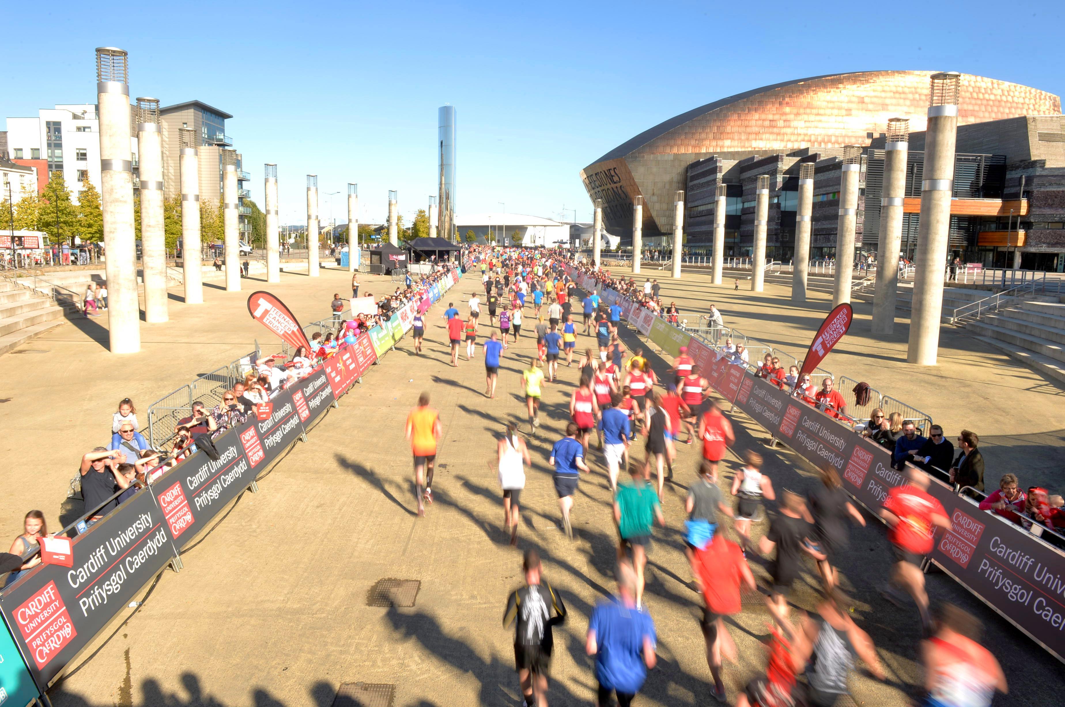 Route - Cardiff Half Marathon