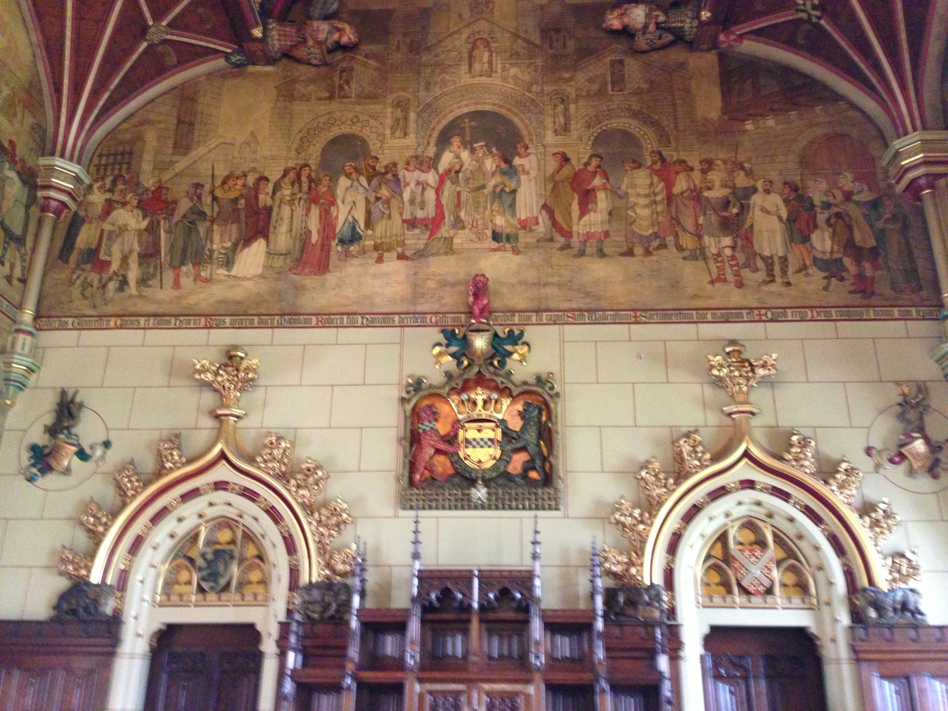 William Burges, The Banqueting Hall, Cardiff Castle | Laura's Beau ...