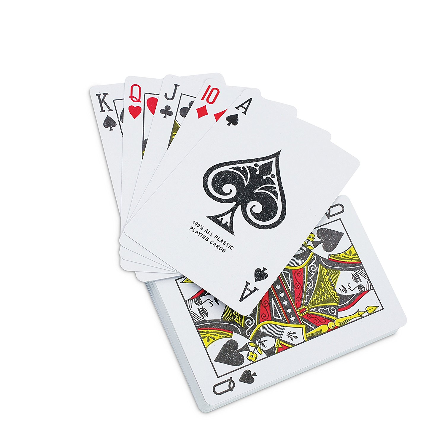 Waterproof Playing Cards in Plastic Case - KOVOT