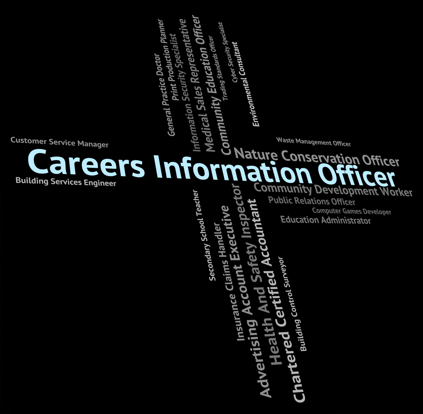 Careers Information Officer Indicates Officials Vocations And Pr, Administrator, Post, Occupations, Officer, HQ Photo