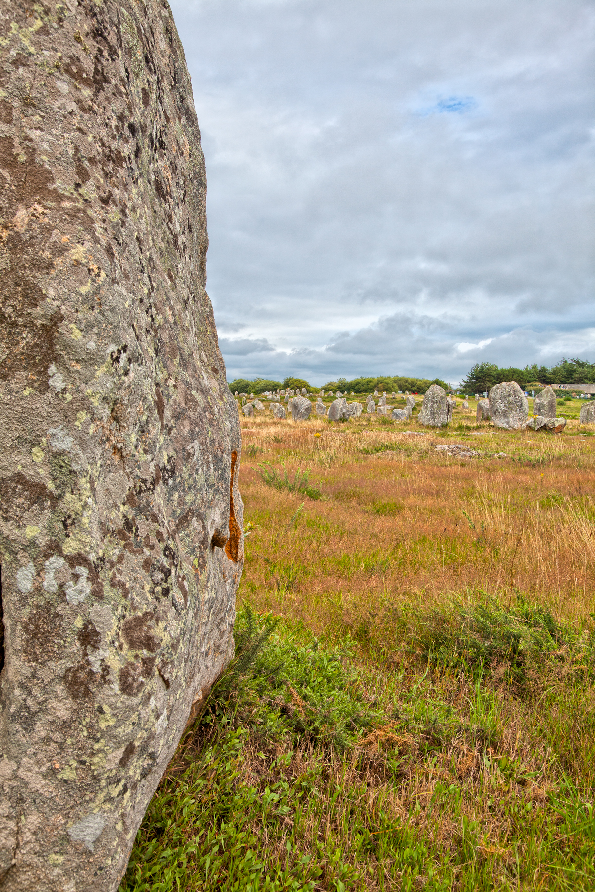 Carnac stones - hdr photo