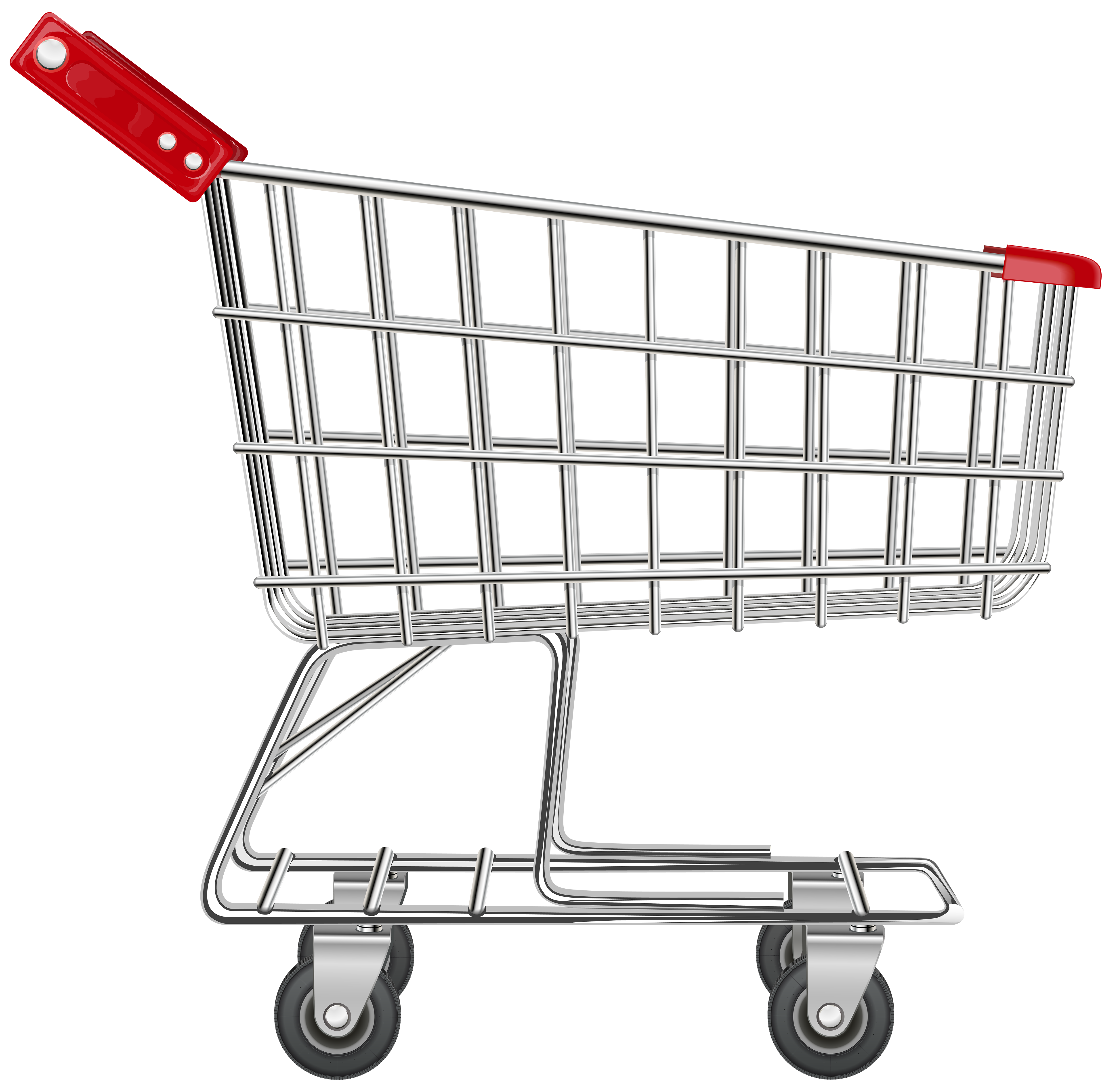 Shopping Cart Transparent PNG Clip Art Image | Gallery Yopriceville ...