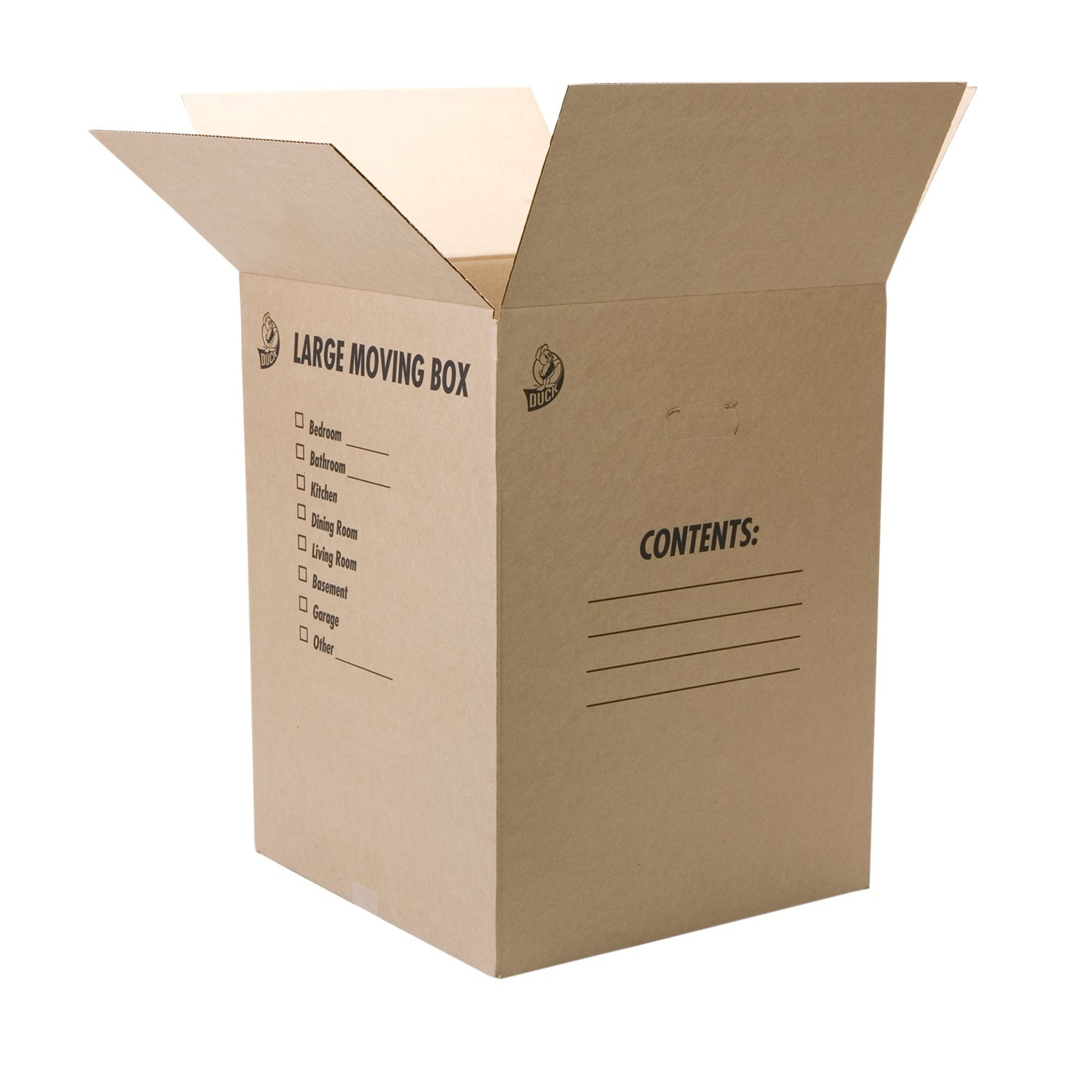 Amazon.com : Duck Brand Kraft Corrugated Shipping Boxes, 18