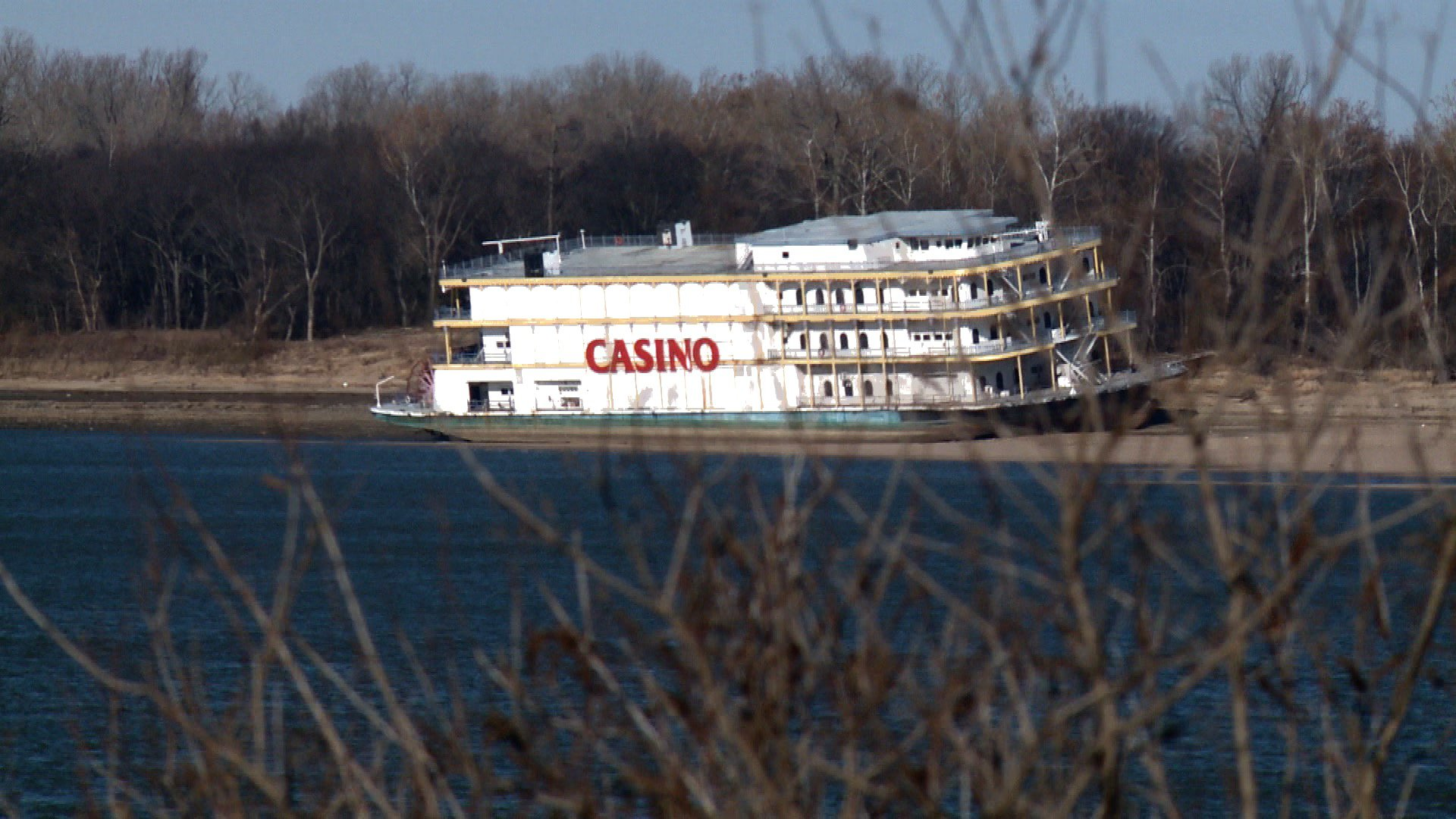 Rhythm City Casino boat is high-and-dry in Memphis | WREG.com