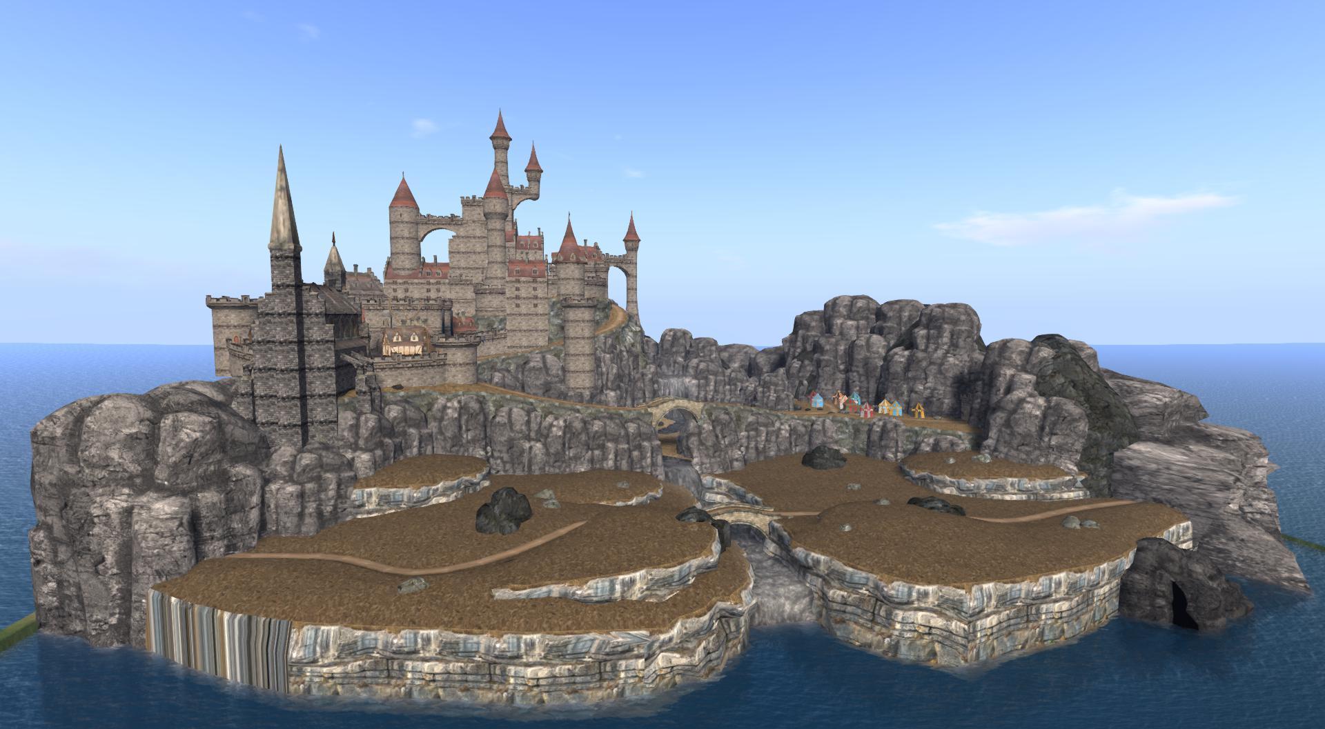 OpenSim OAR – Epic Castle | Austin Tate's Blog