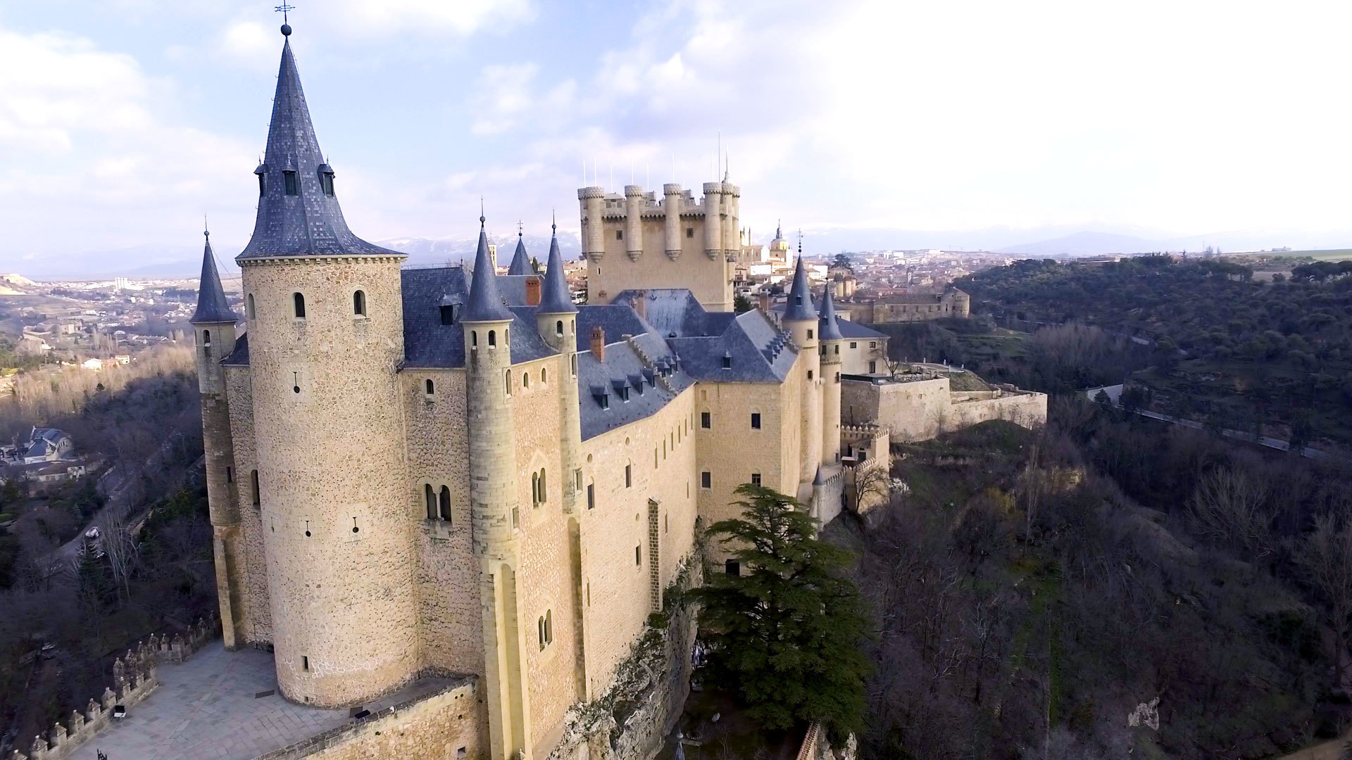 Great Big Story : The Spanish Castle That Inspired Walt Disney