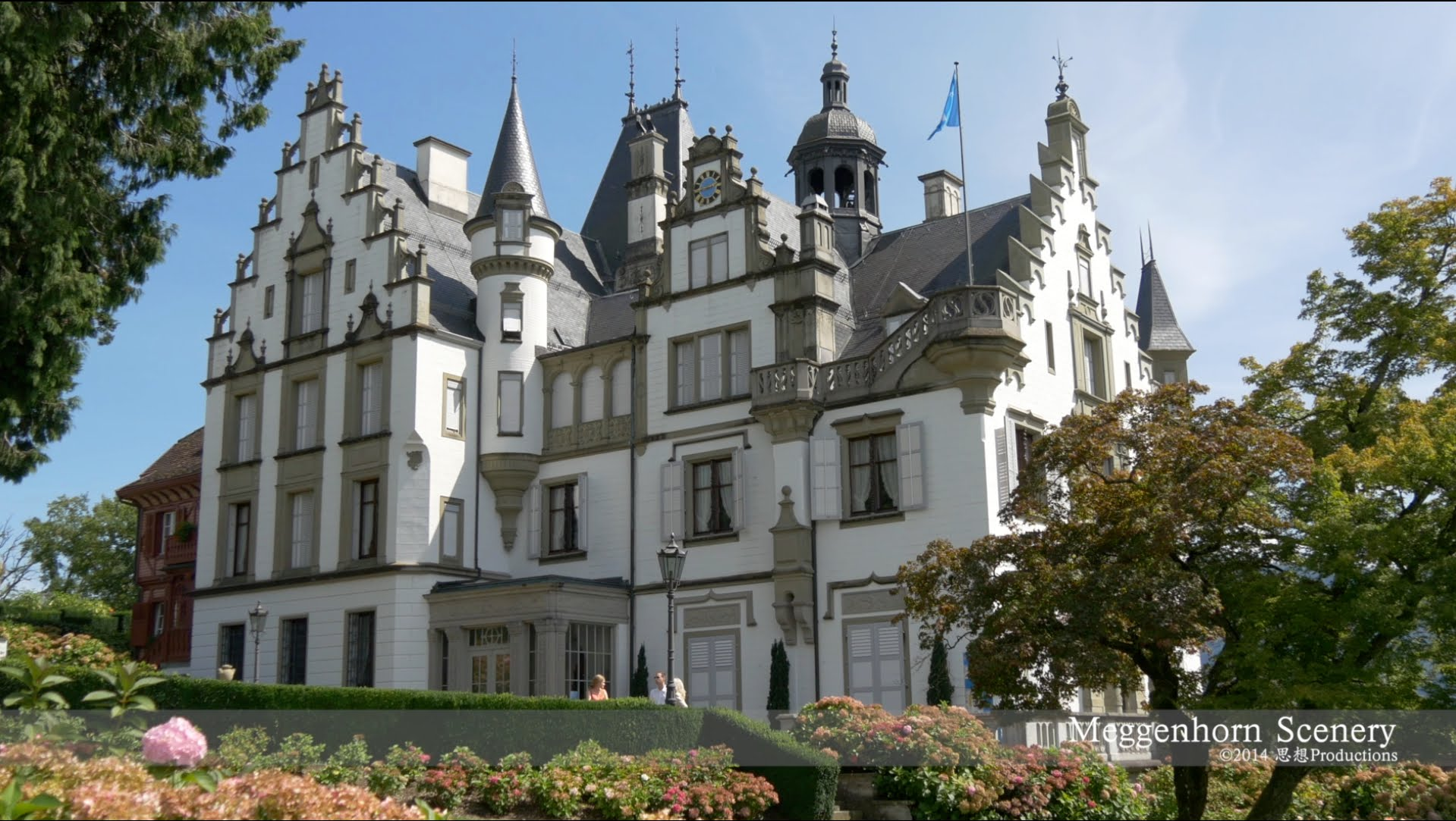 Schloss Meggenhorn Castle, Luzern SWITZERLAND 城 スイス - YouTube