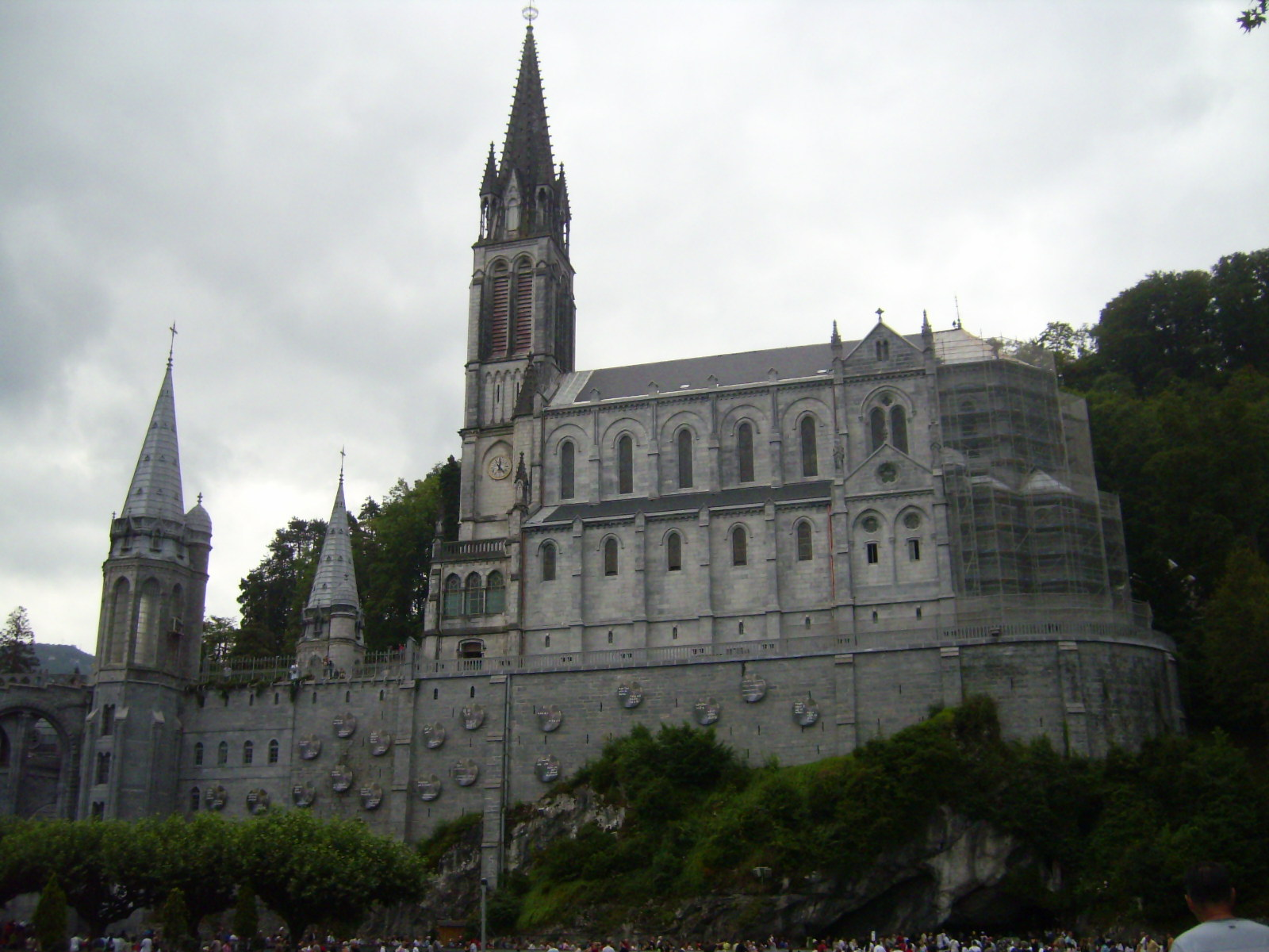 Cathedral of lourdes (france) photo