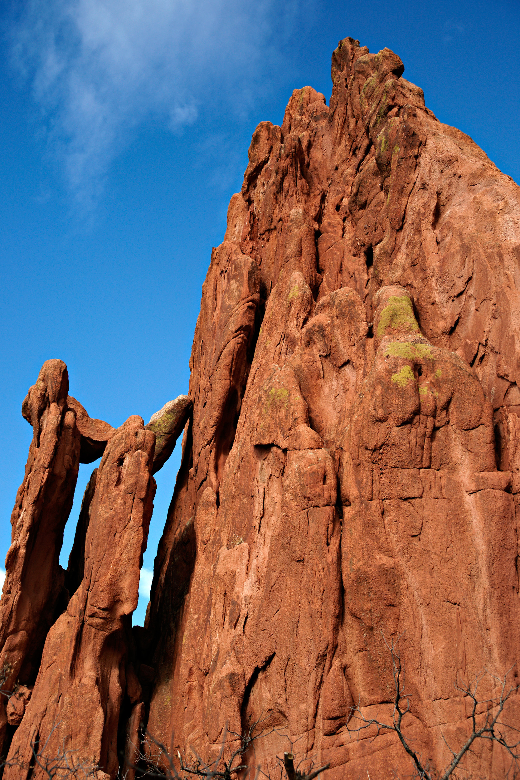 Cathedral Spires at Garden of the Gods, Peak, Storm, Springs, Spires, HQ Photo