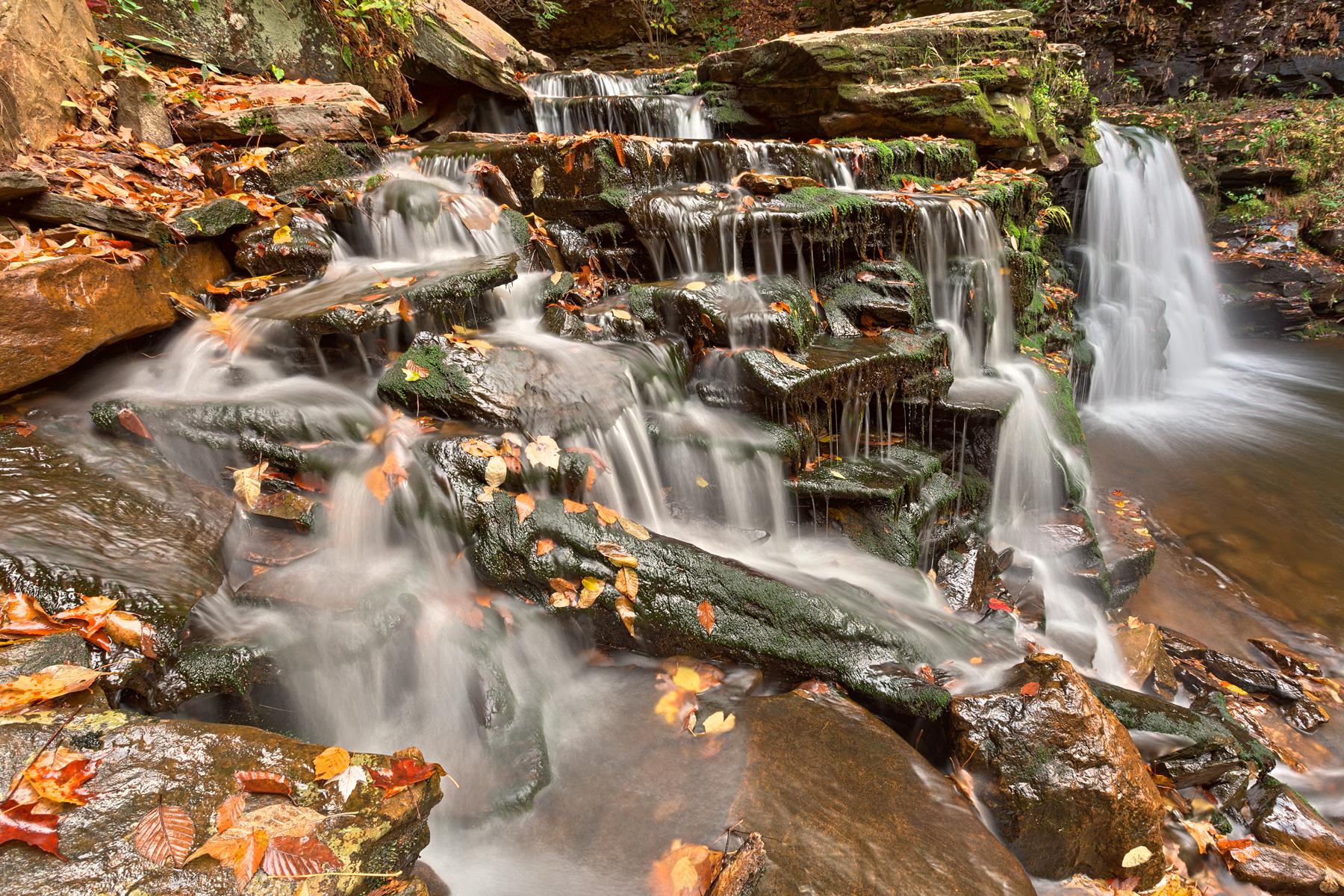 Cayuga falls - hdr photo