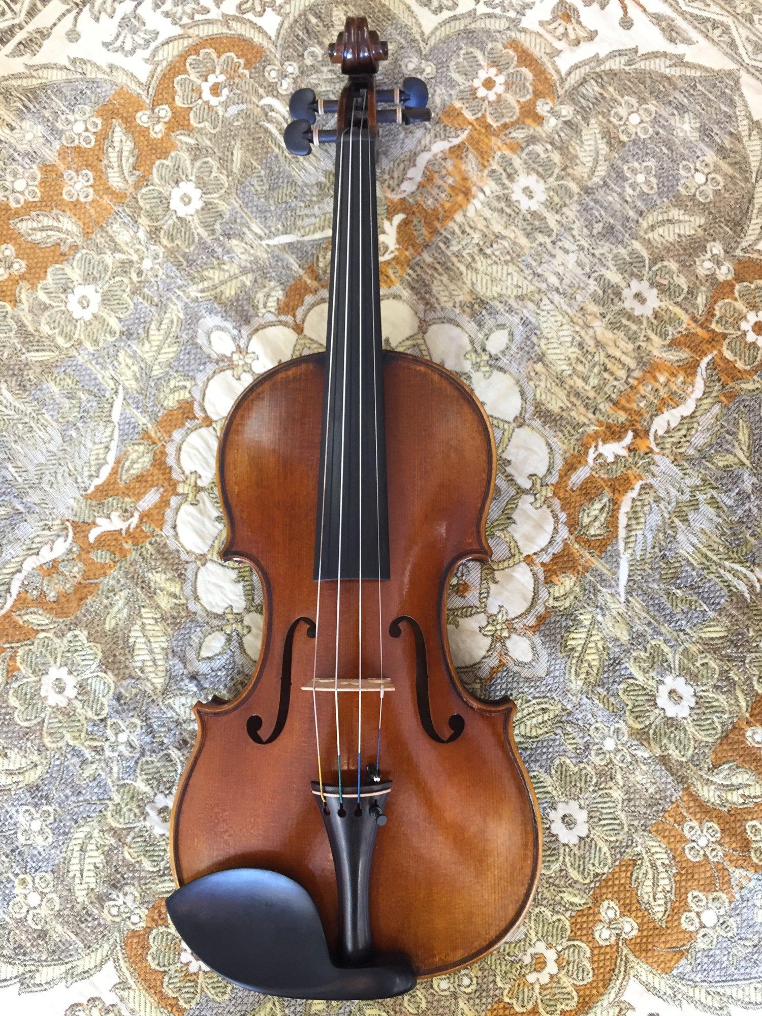 Cedar Music Violin - Model B — Tulsa Strings Violin Shop