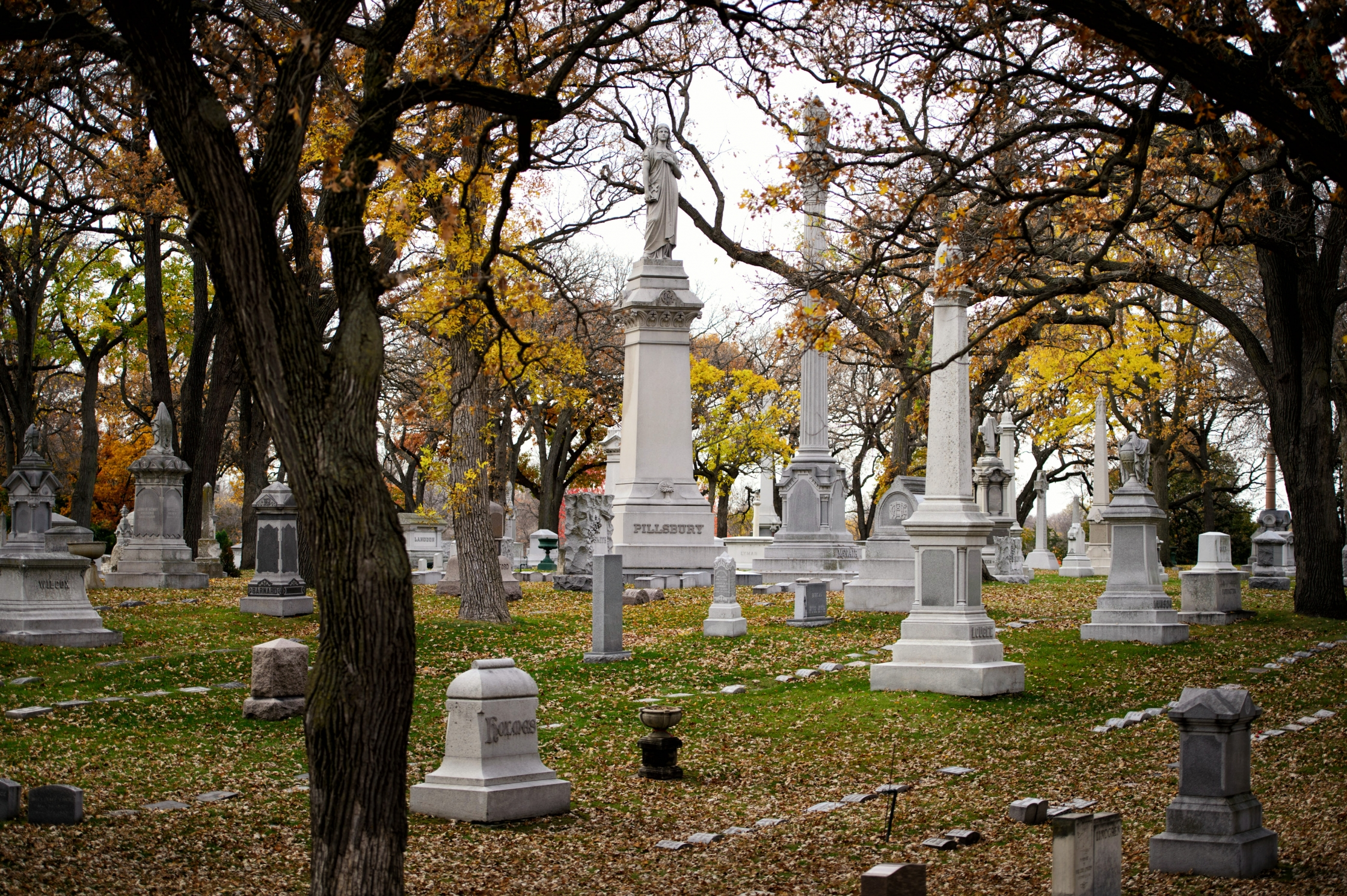 Photos: As cities grow, cemeteries become part of urban landscape ...