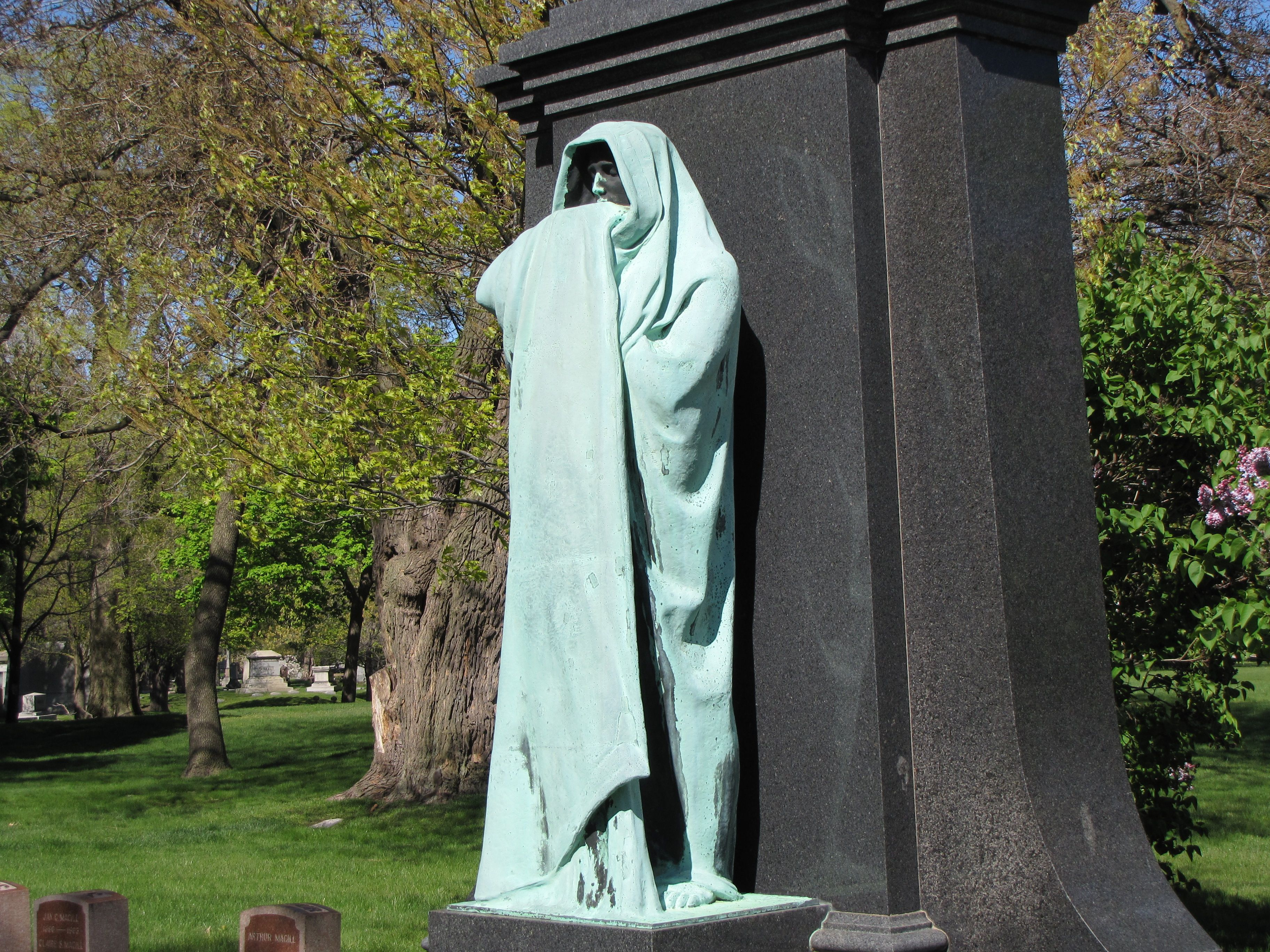 Eternal Silence Graceland Cemetery Chicago Ill | Death is ...