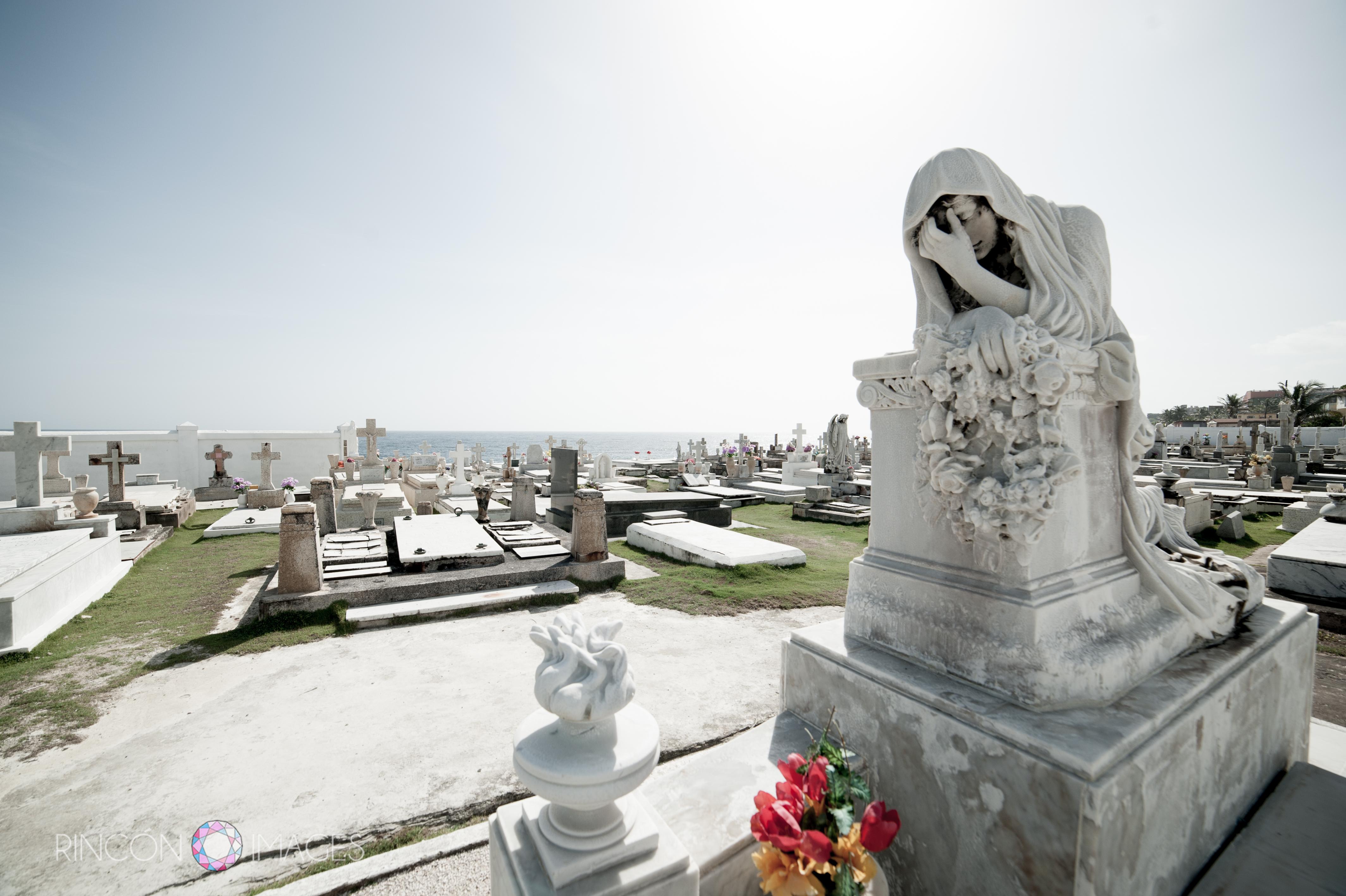 Cemetery scape photo