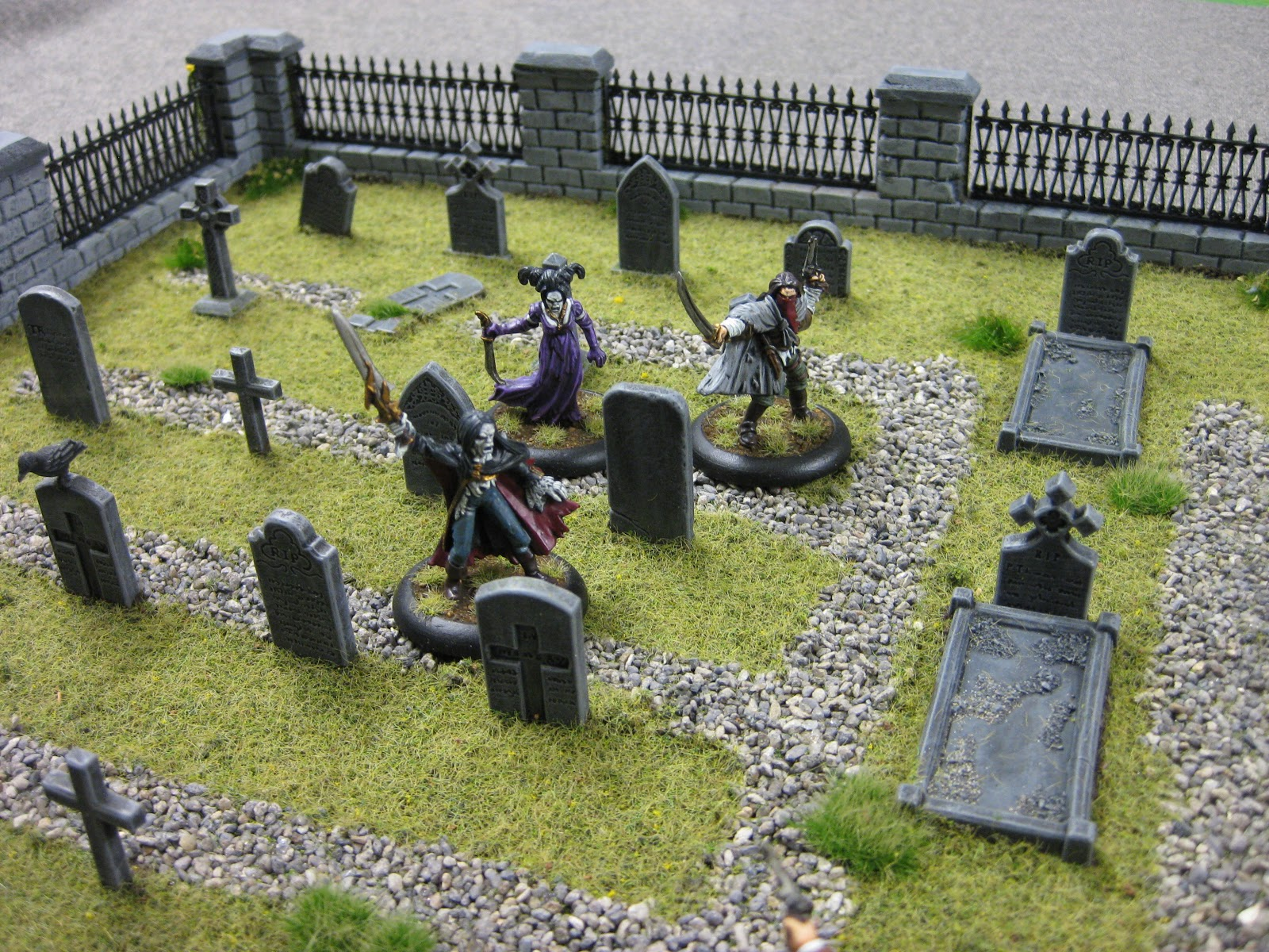 Scott's War-gaming: Graveyard or Cemetery - Empire of the Dead.