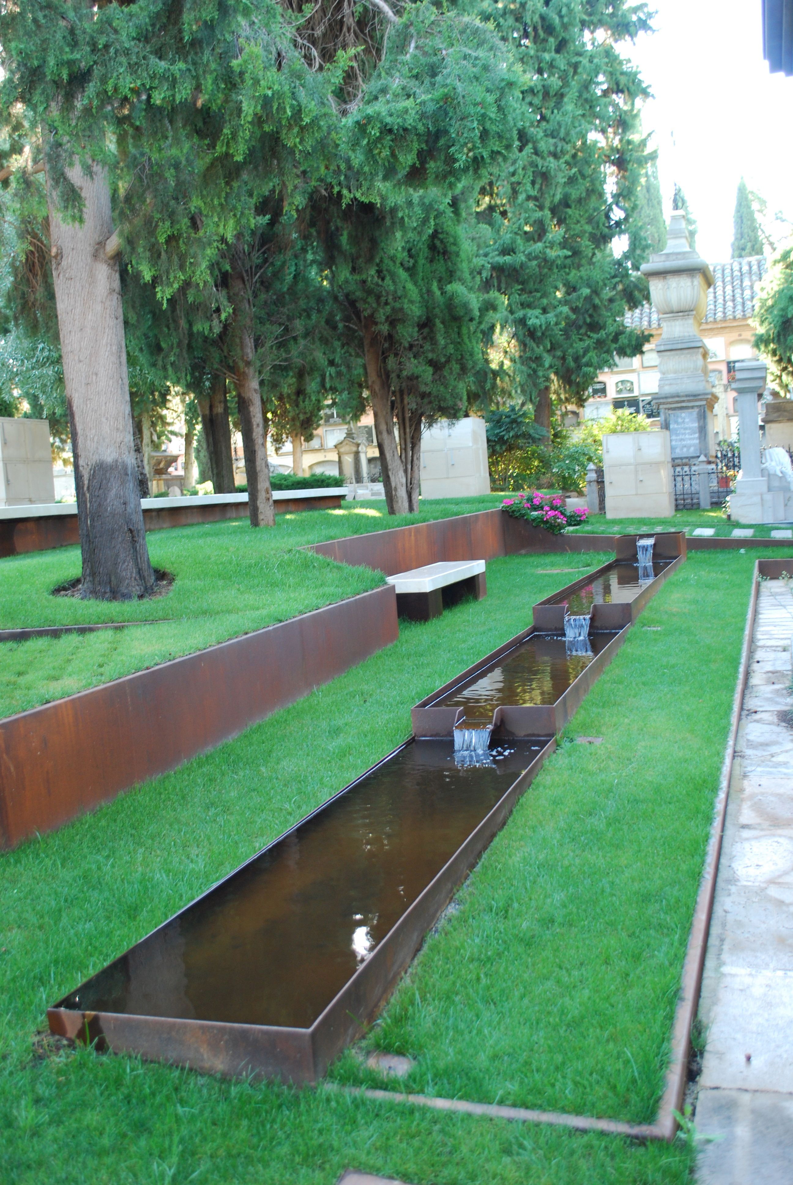 water feature at cemetery | Cemetery | Pinterest | Cemetery