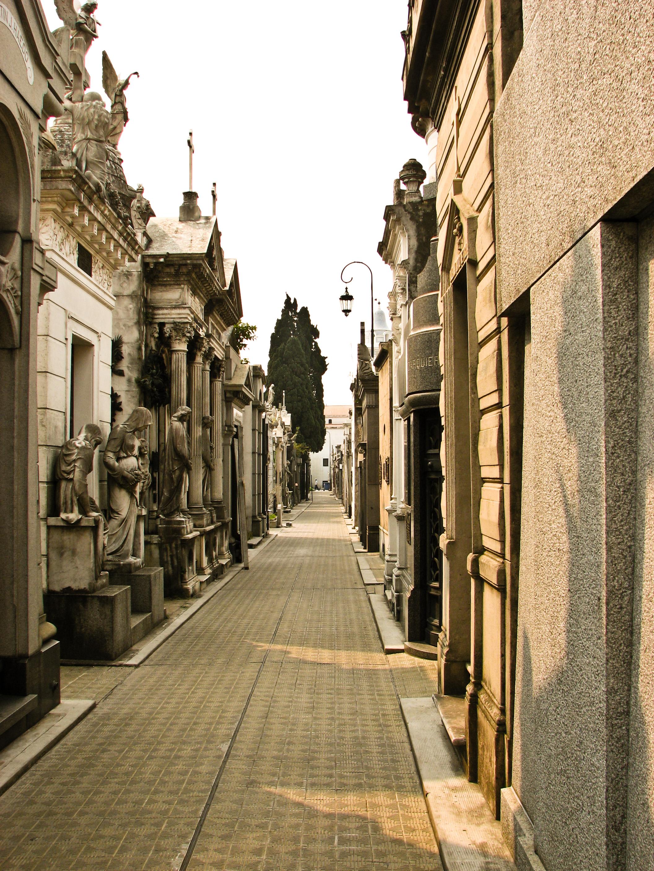 Cemetery scape