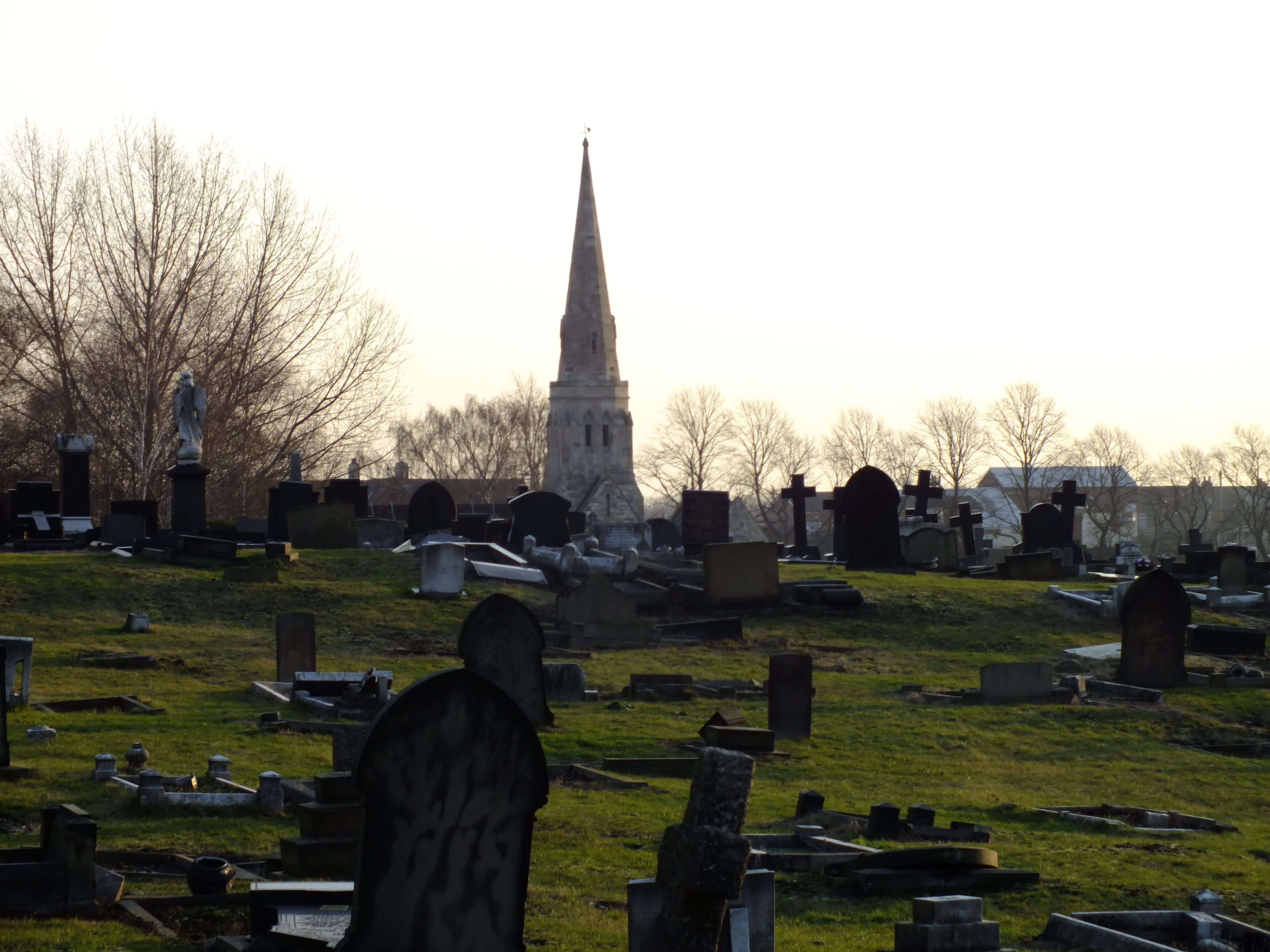 Cemetry, Church, Graveyard, Tombs, HQ Photo