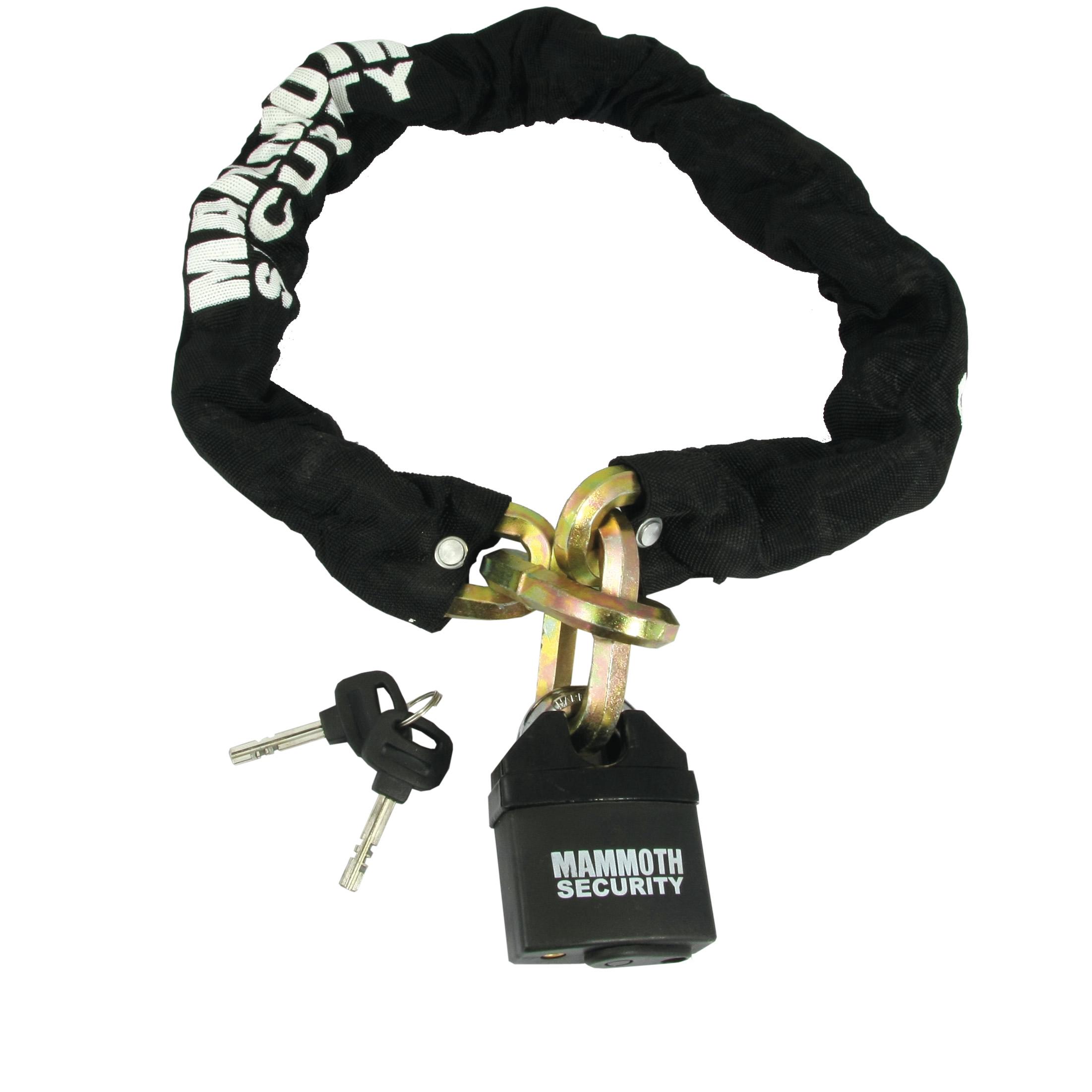 Bike It Mammoth Hexagon Chain and Lock 1m - Chains, Cables & U-Locks ...