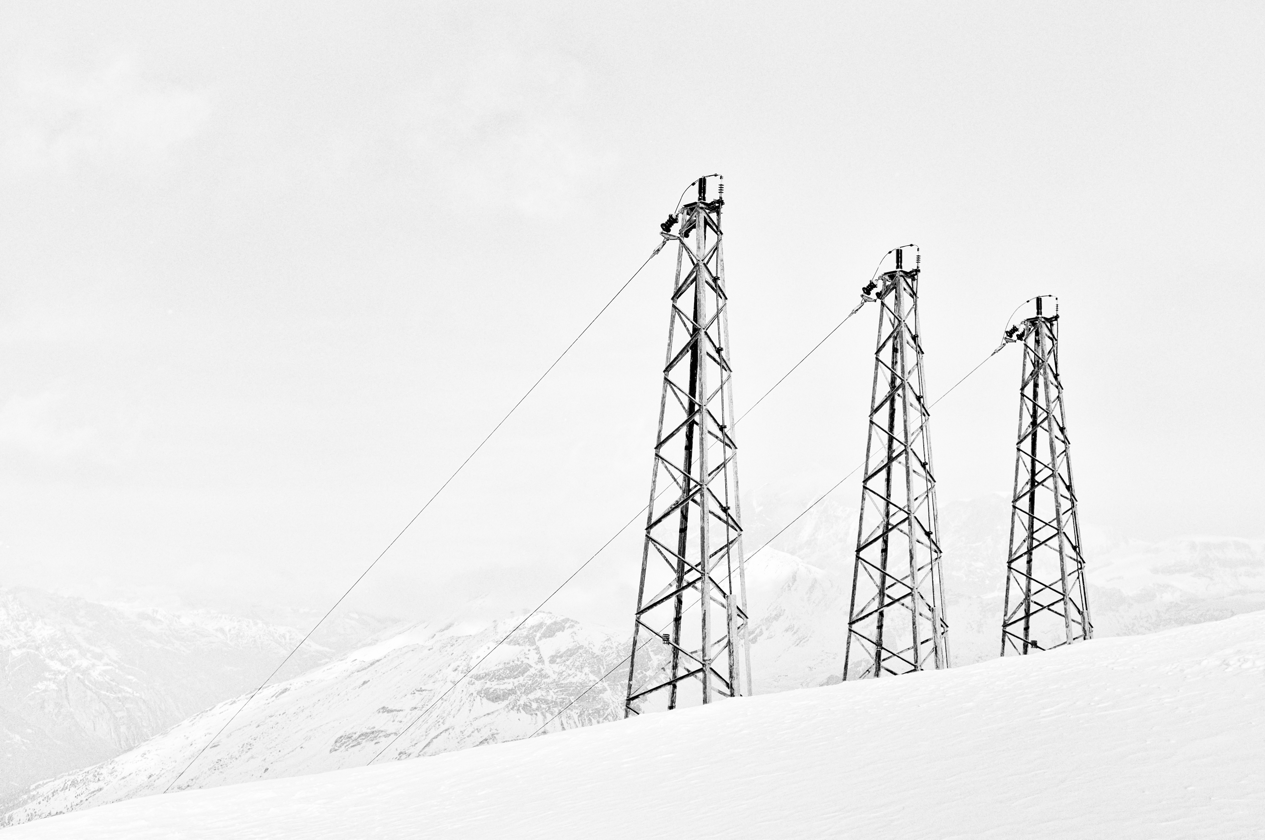 Chairlifts, Chair, Chairlift, Cold, Lift, HQ Photo