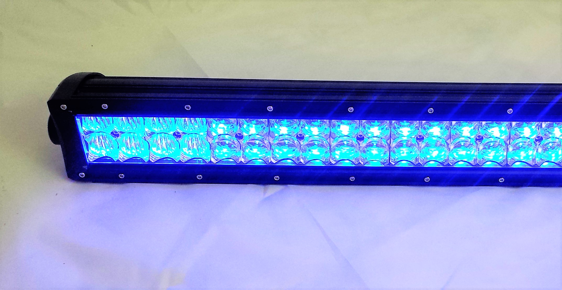LLL-5D-300   RGB LED LIGHT Bar 50 Inch 300w Color Changing Lifetime ...