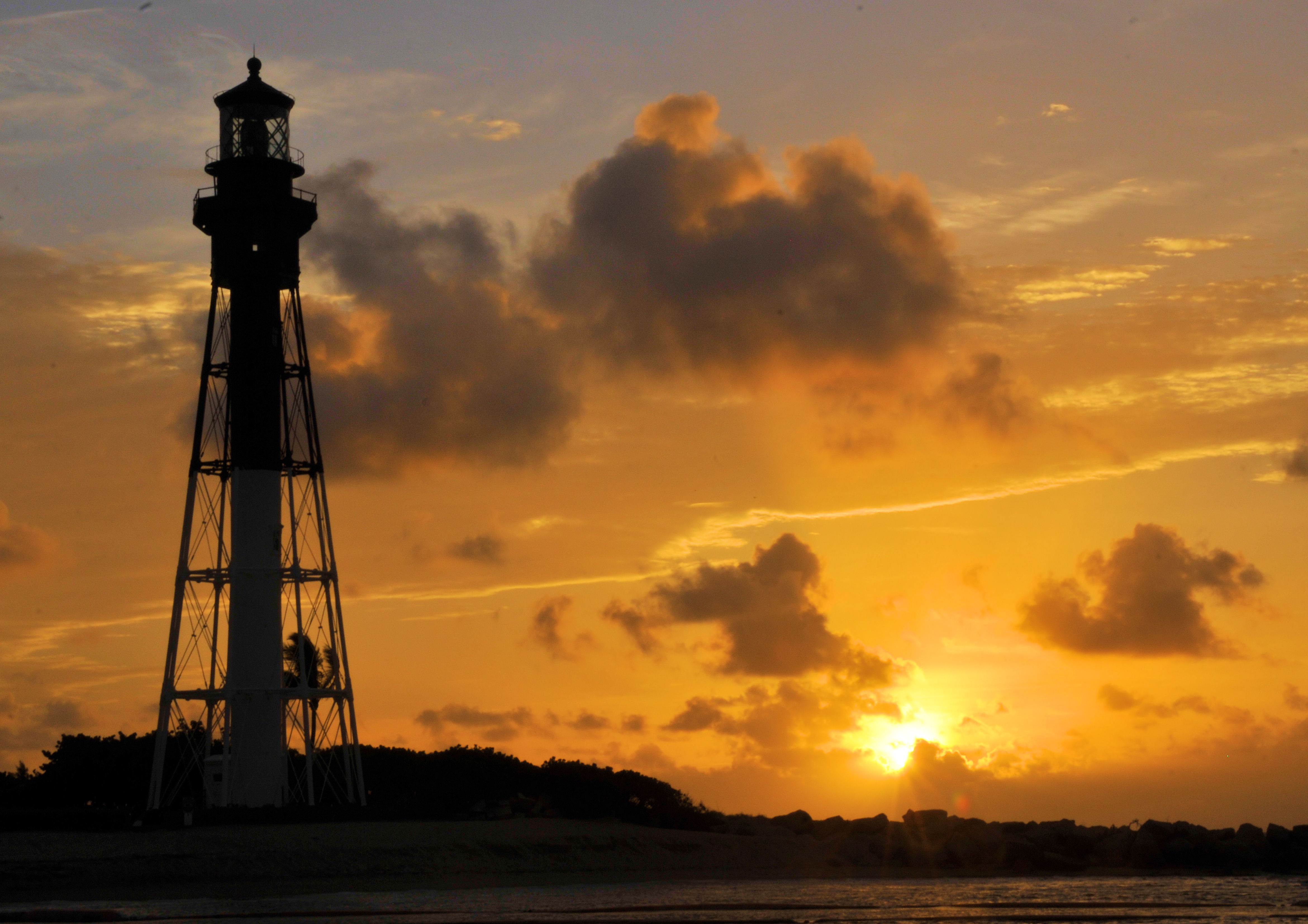 Changing Light, Atlantic, Beach, Florida, Light, HQ Photo