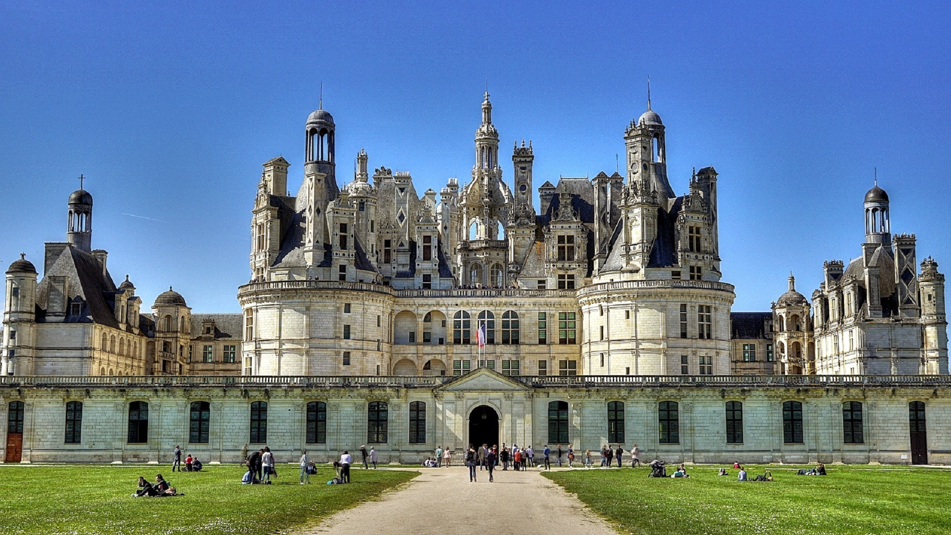 Chateau de chambord photo