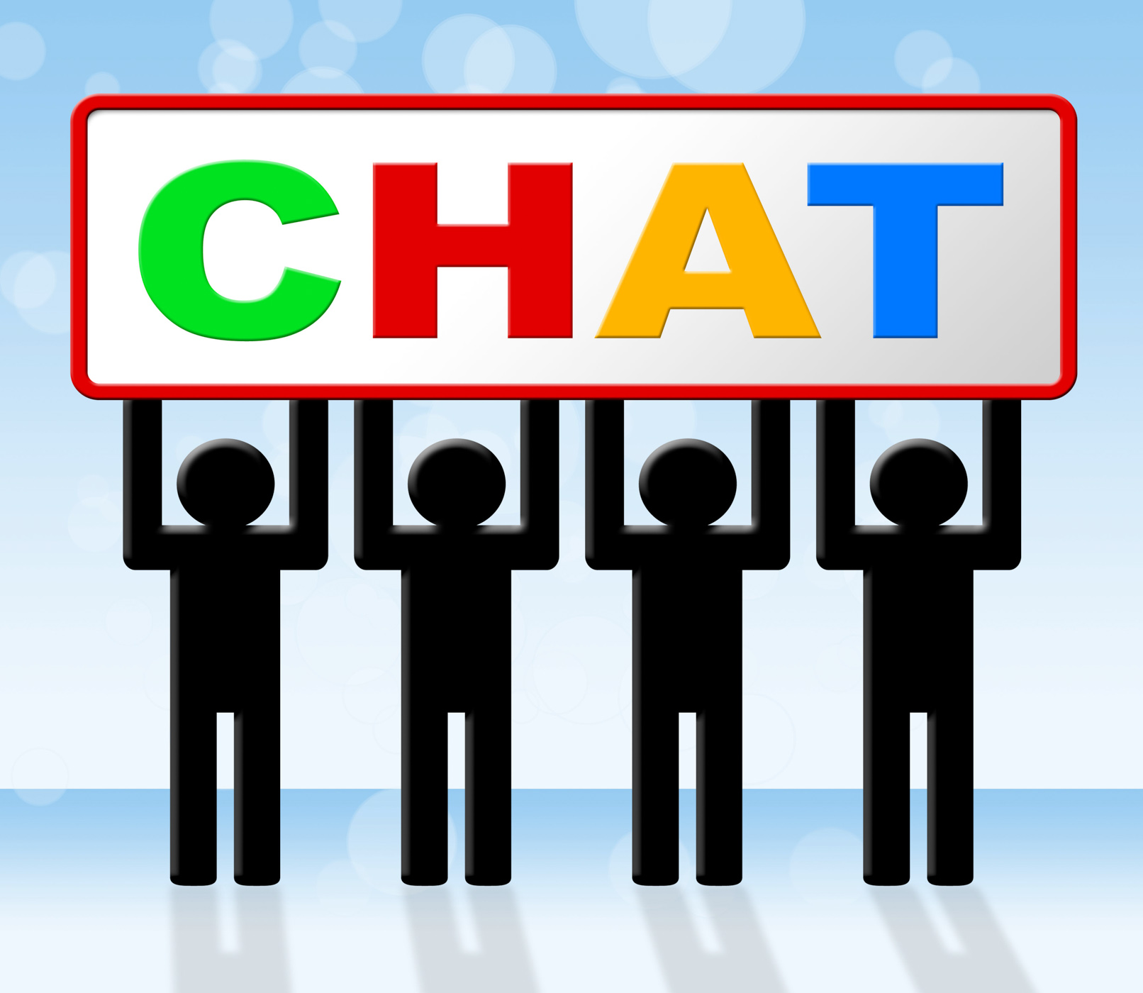 Chatting Chat Means Messenger Communicating And Call, Call, Chat, Chatting, Communicate, HQ Photo