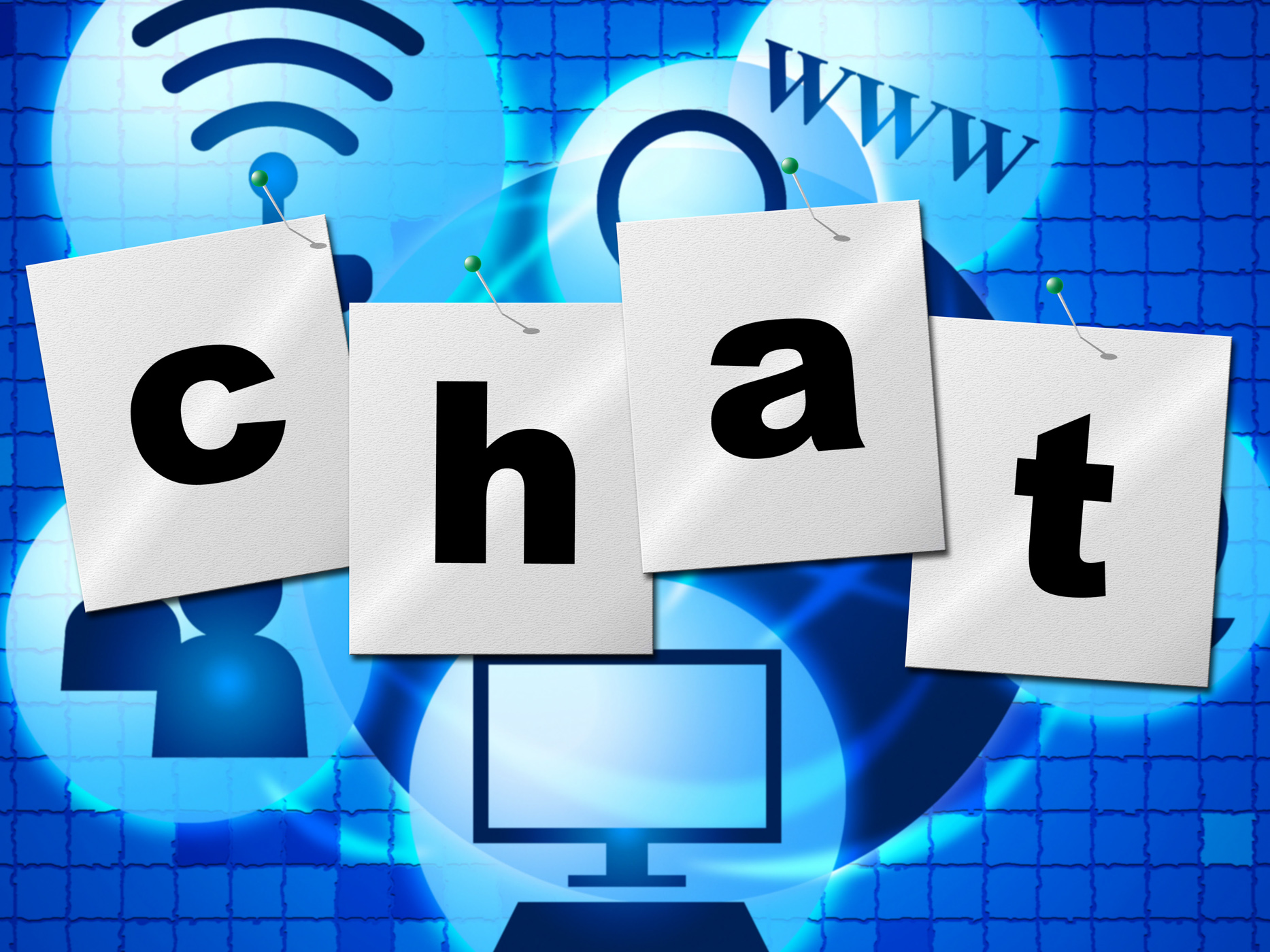 Chatting Chat Represents Telephone Typing And Communicate, Call, Chat, Chatting, Communicate, HQ Photo