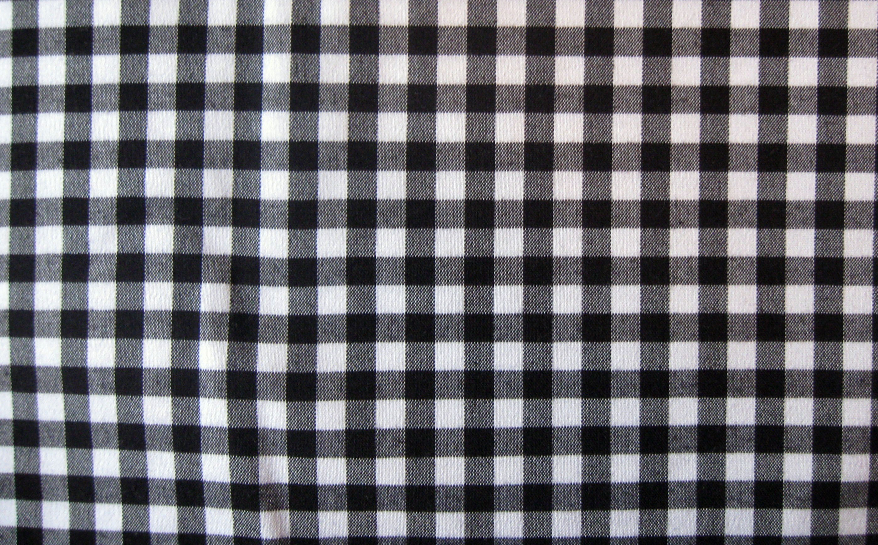 Checkered fabric texture photo