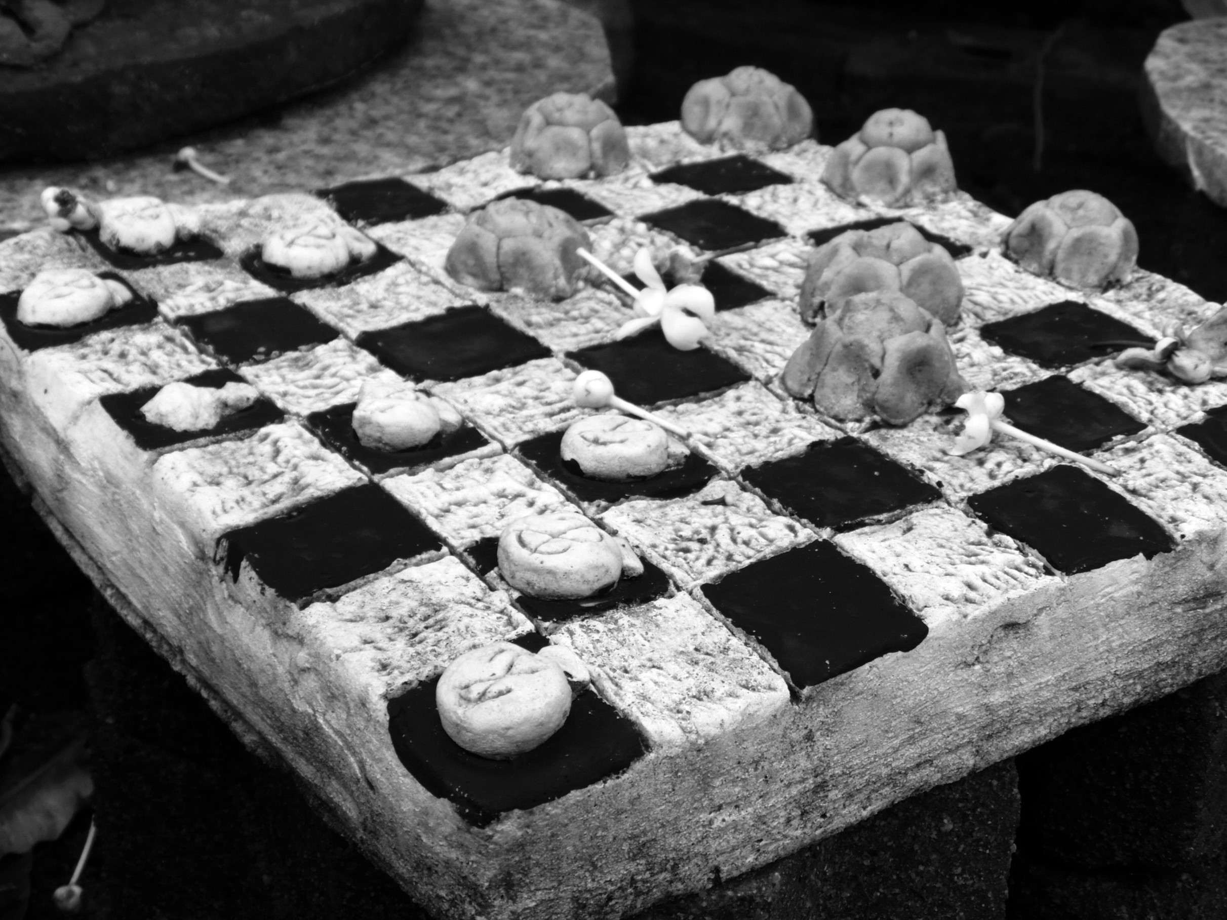 Checkers Game Black and White, Black, Outdoor, Strategy, Play, HQ Photo
