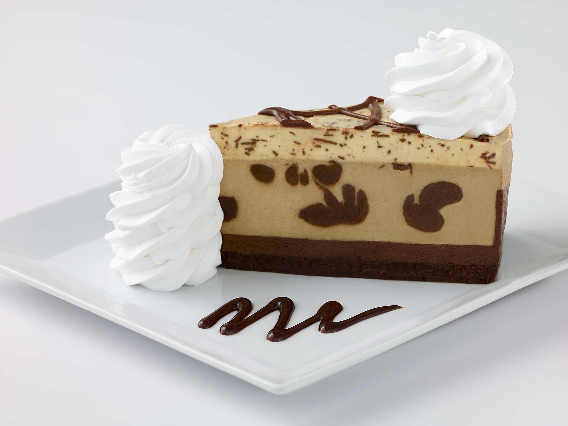 Cheesecake and coffee photo