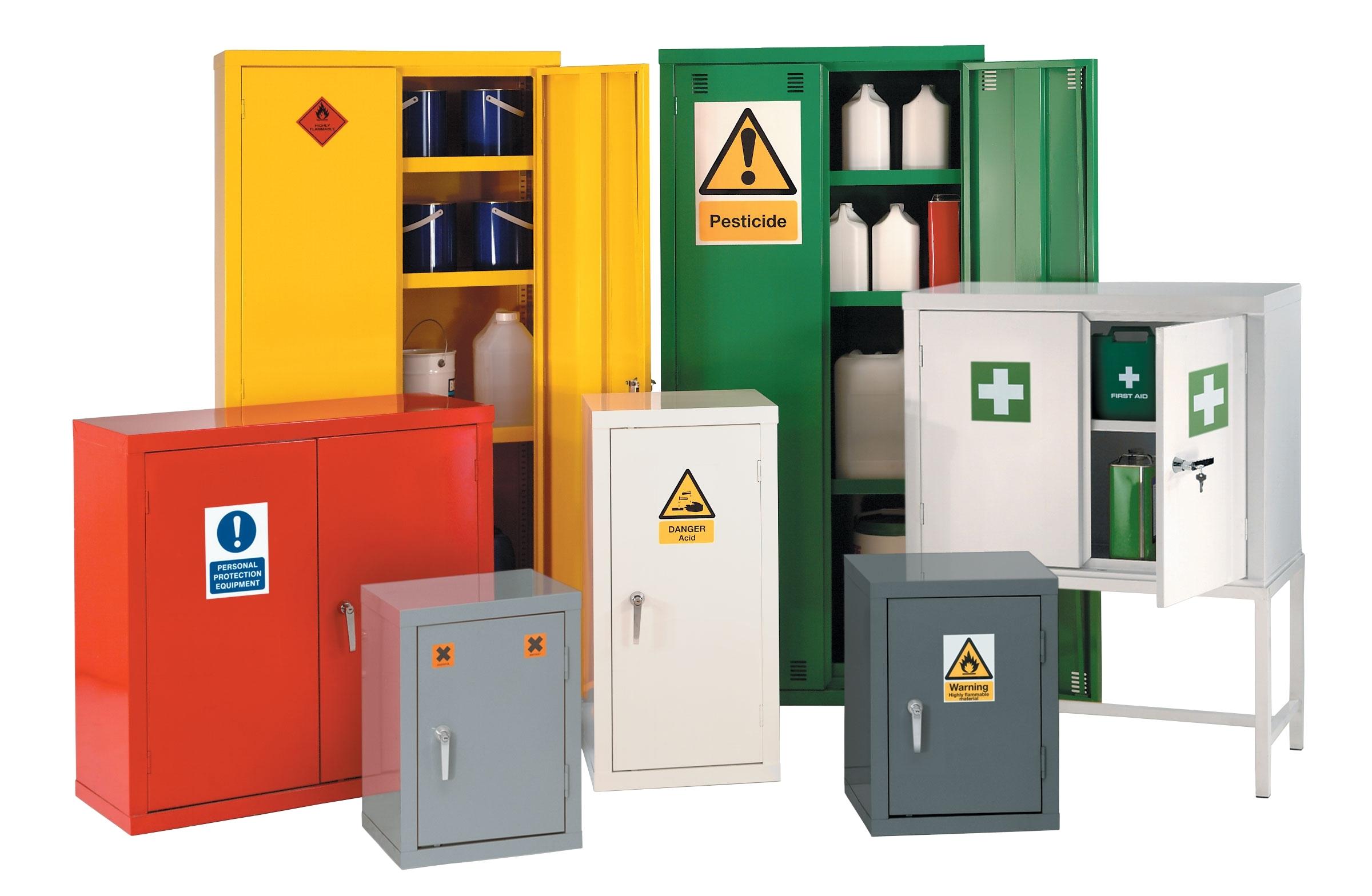 Hazardous Chemical Storage Cabinet 12 With Hazardous Chemical ...