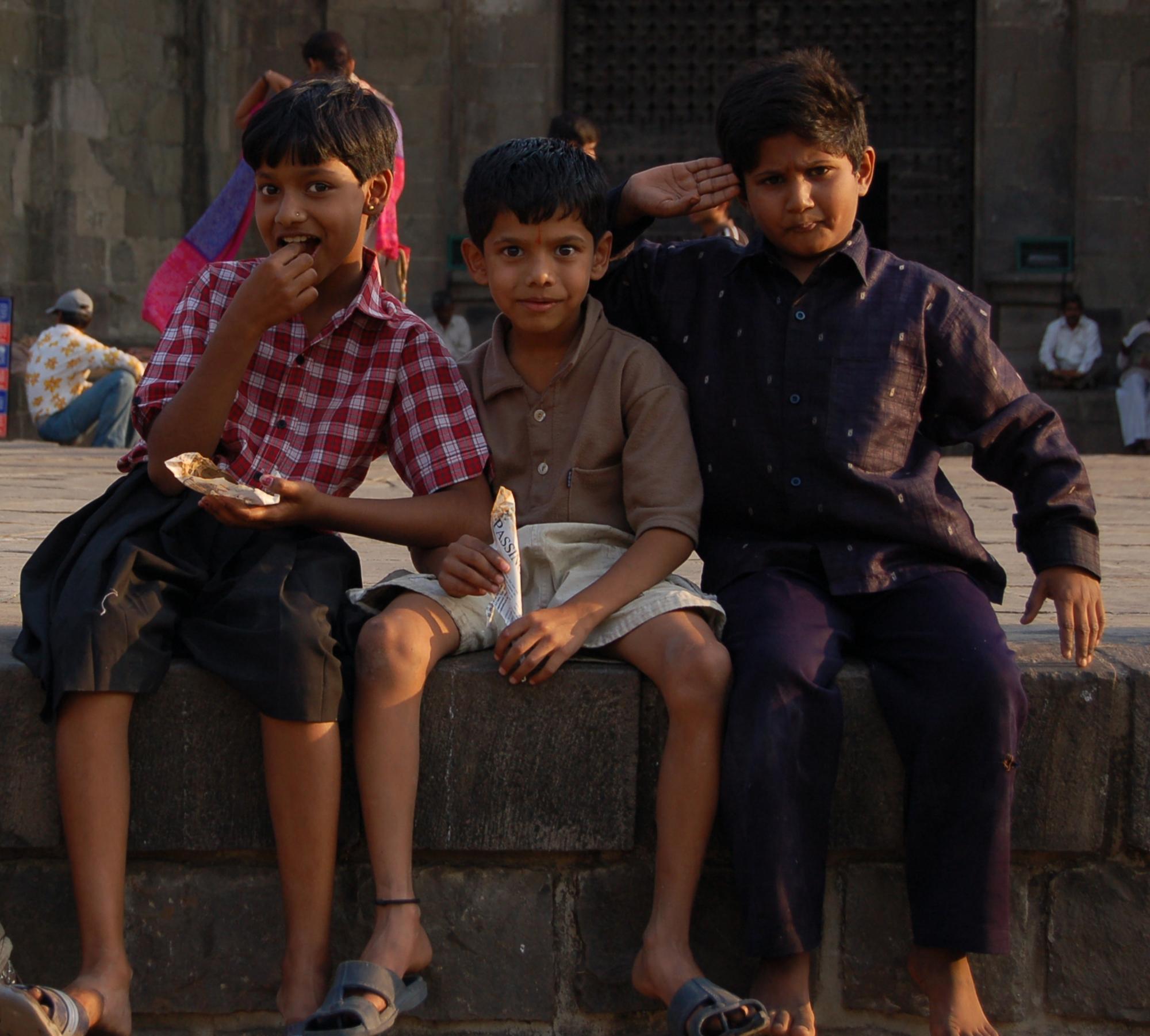 Красивые индийские дети фото