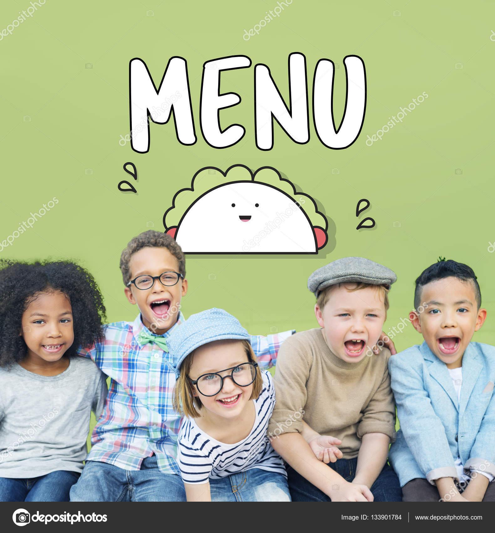Cheerful Children Have fun — Stock Photo © Rawpixel #133901784