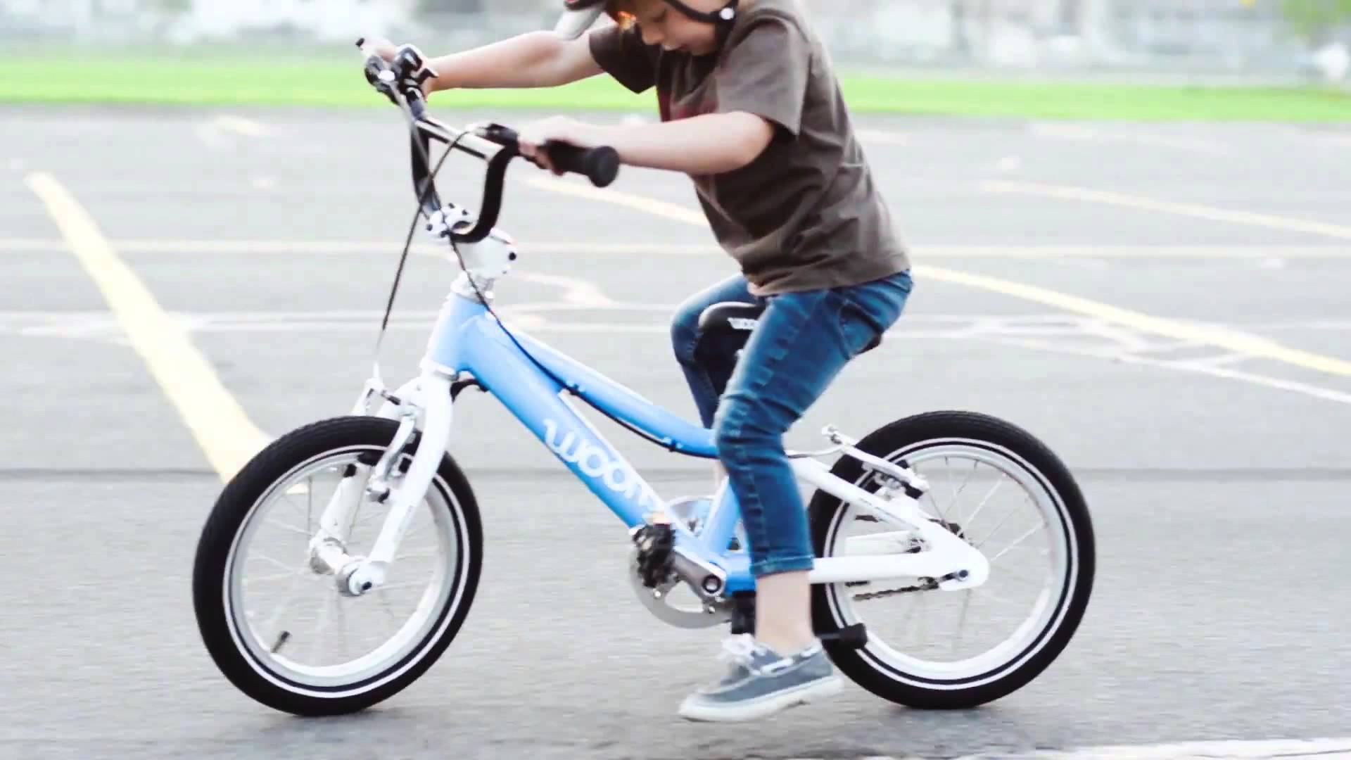Teach your kid to ride a bike in 9 minutes - YouTube