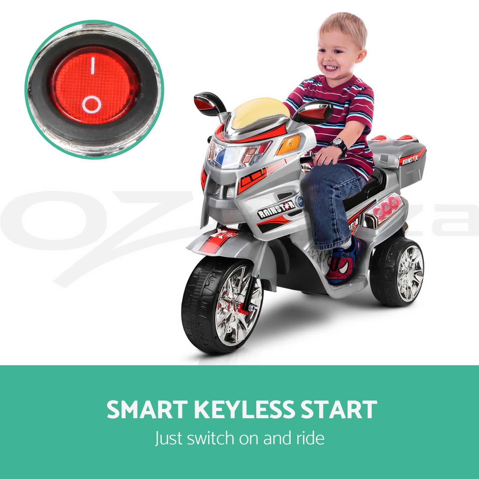 RIGO Kids Ride-On Car Motorbike Motorcycle Children Motorised ...