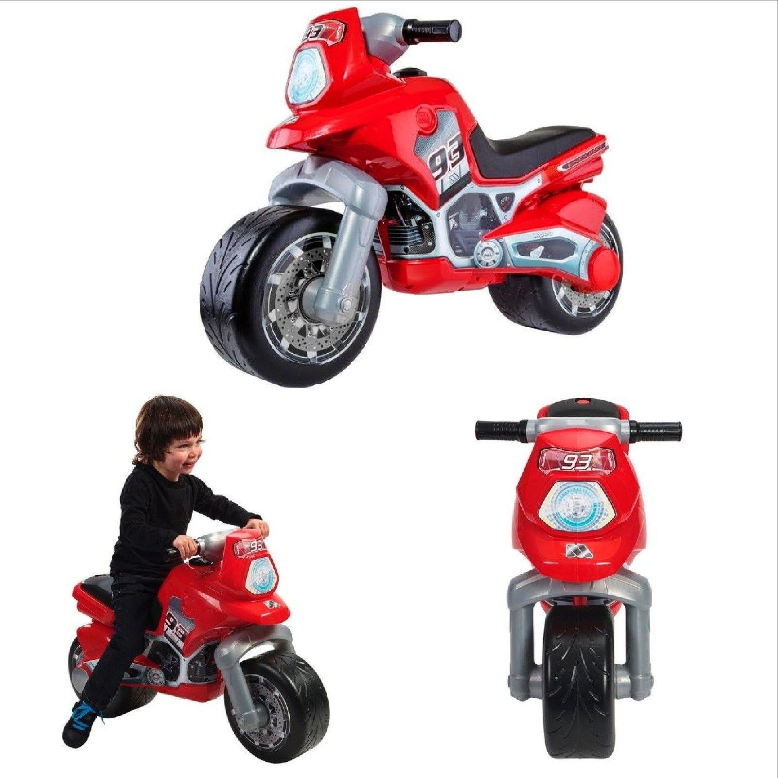 Motocross Kids Motorbike Ride On Motorcycle Boys Toy Wheeled Hard ...