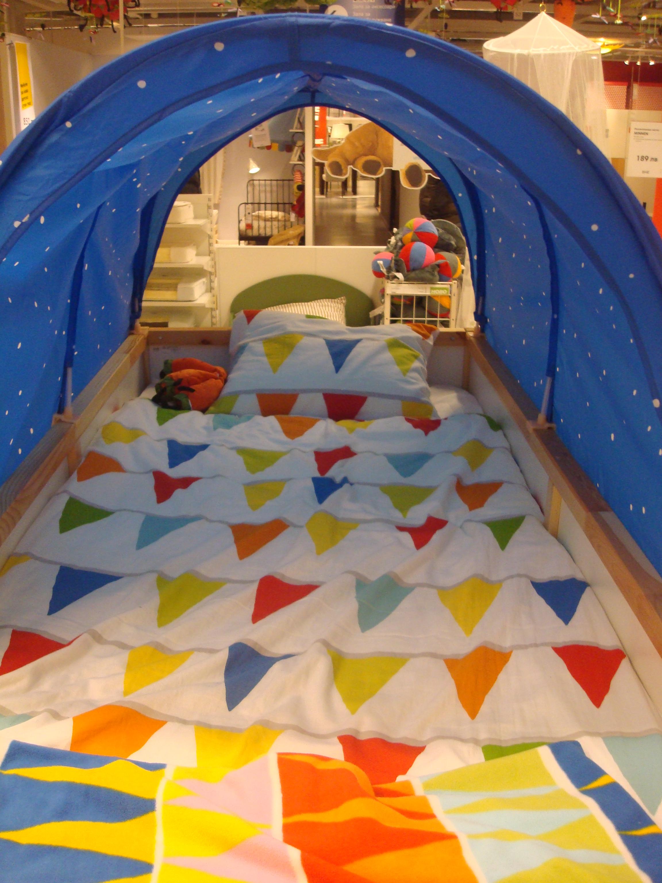 Children's bed photo