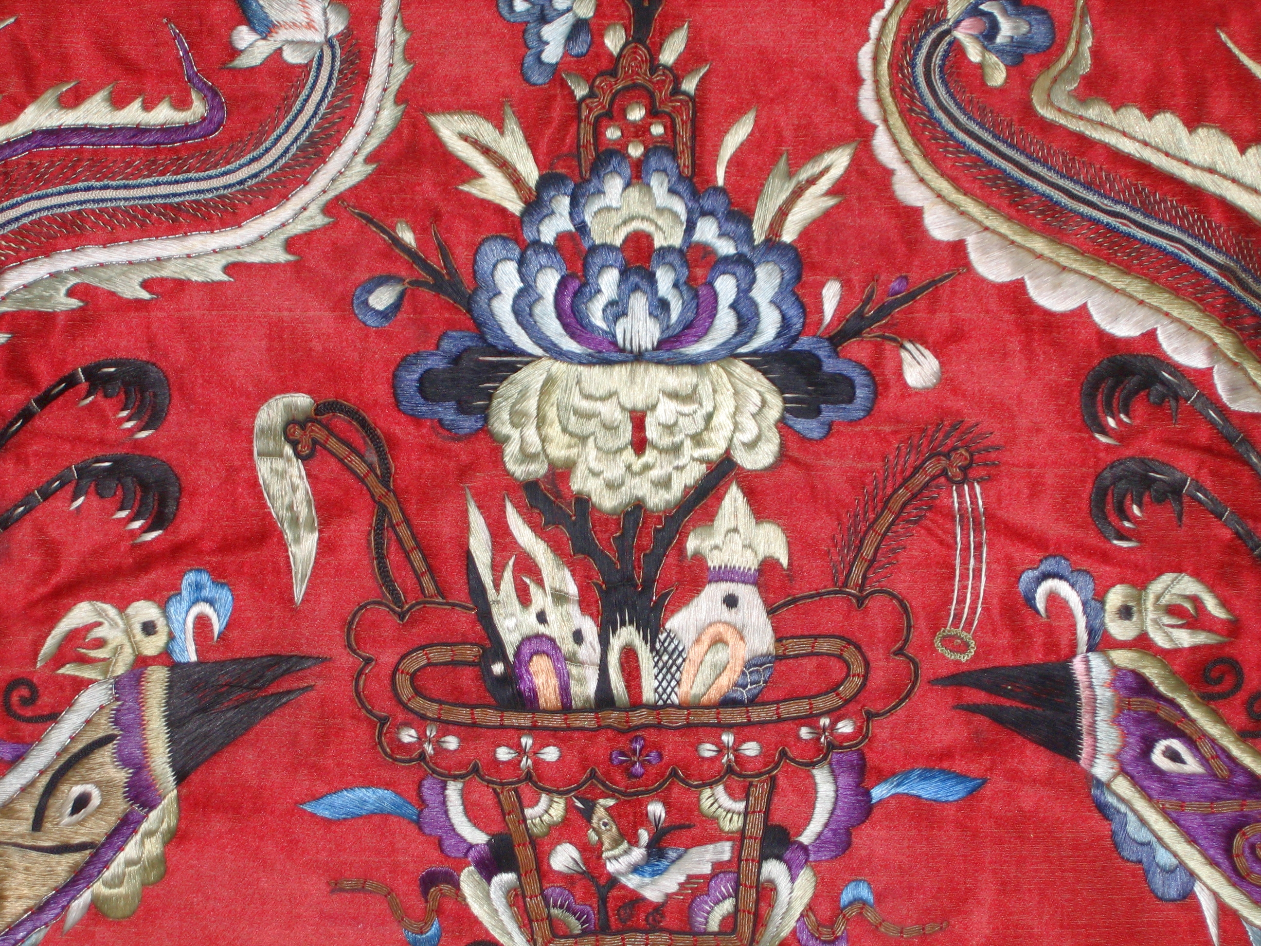 Chinese Antique Embroidery, Art, Picture, Tradition, Thread, HQ Photo