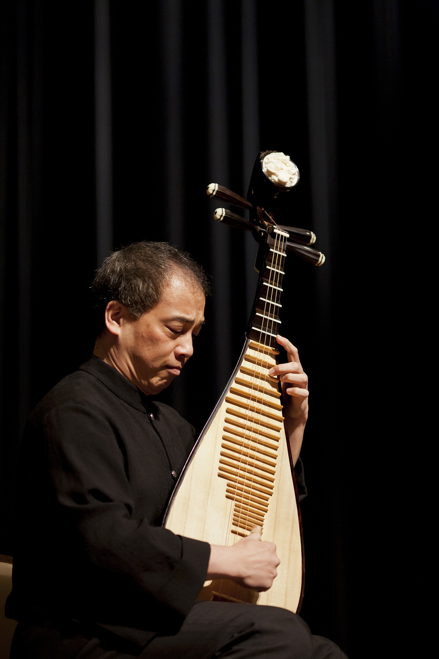Chinese musician photo