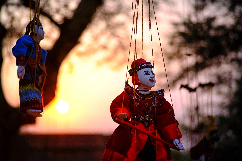Chinese puppet photo