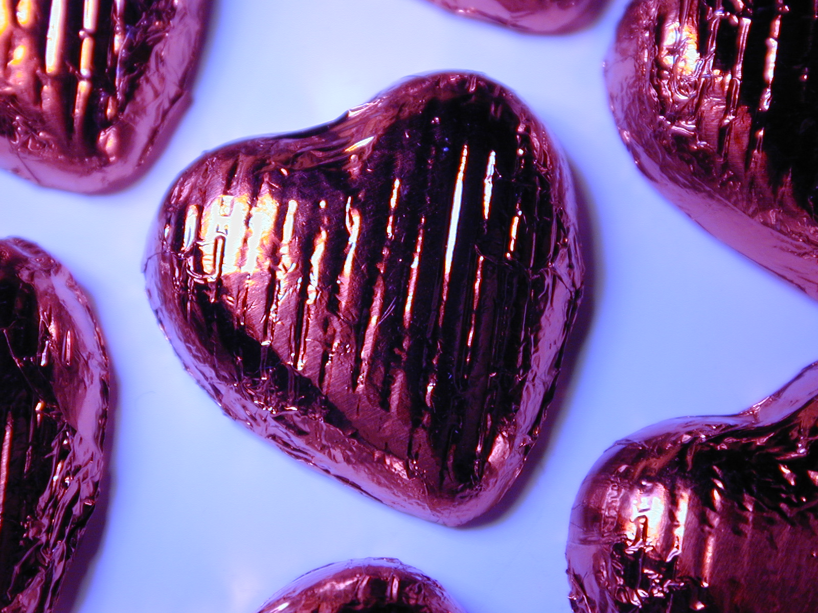 Chocolate Heart, Candy, Chocolate, Foil, Heart, HQ Photo