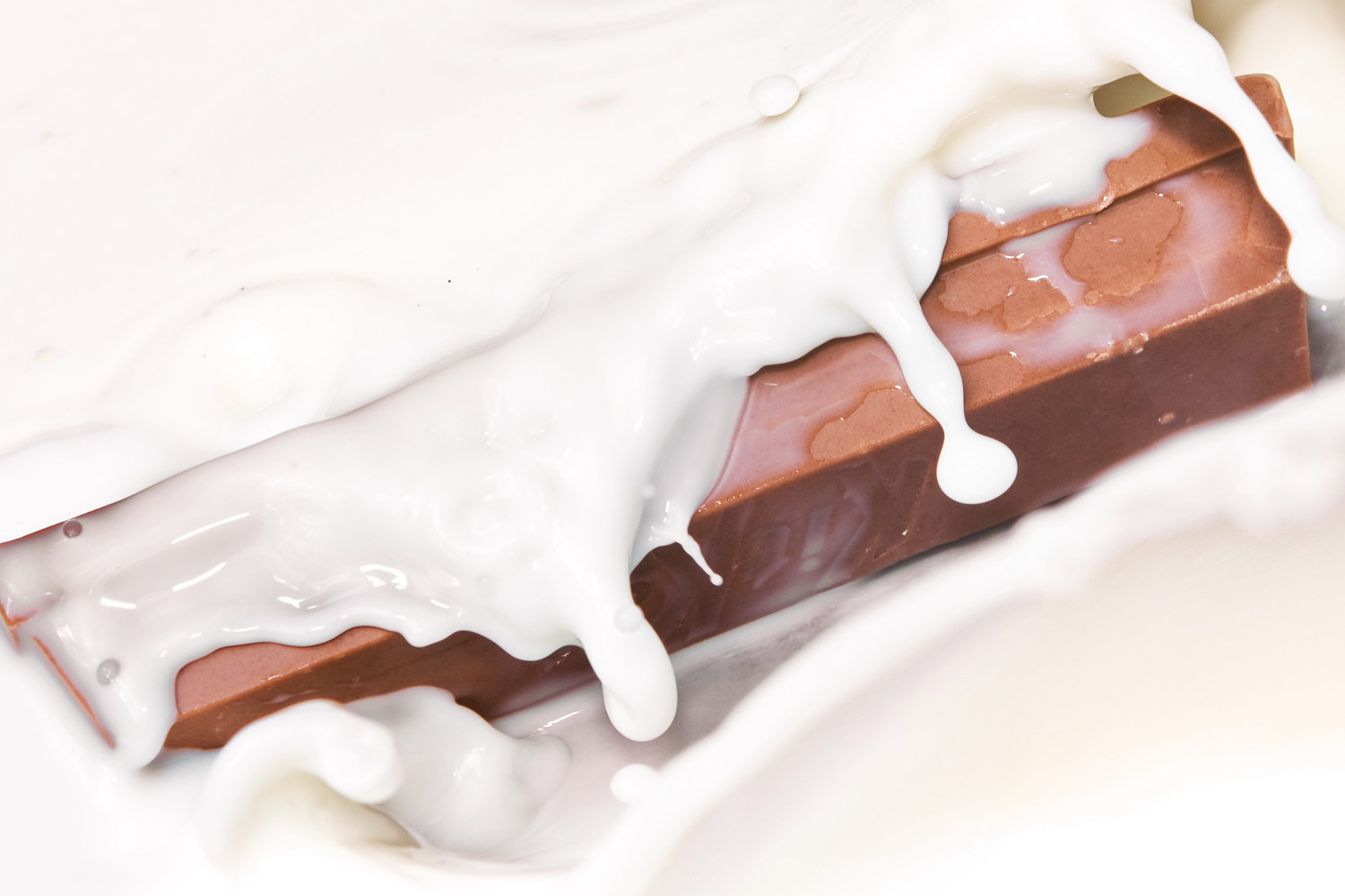 Chocolate in milk, Chocolate, Liquid, Wet, Waves, HQ Photo