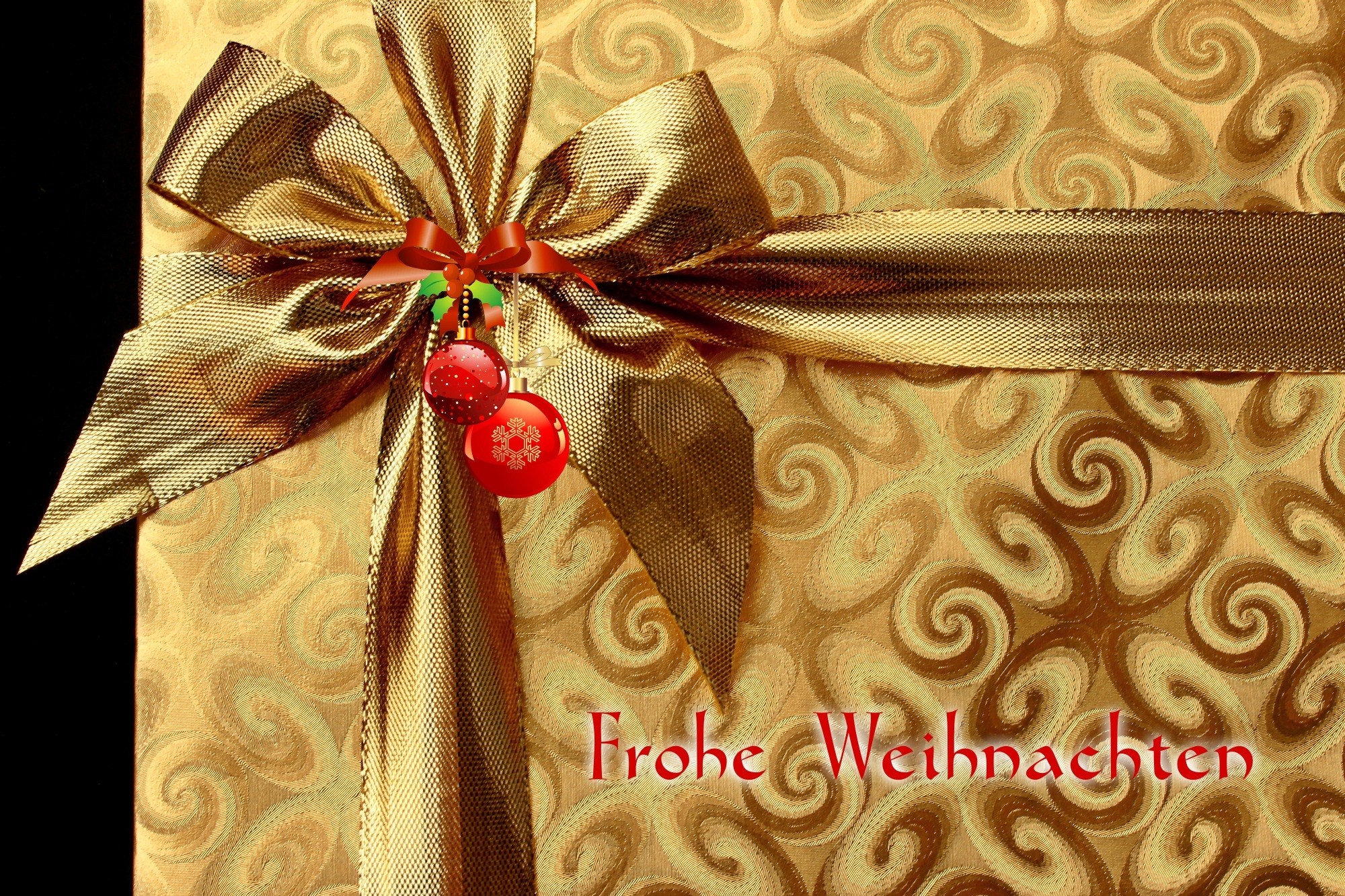 Christmas, Box, Brown, Gift, HQ Photo