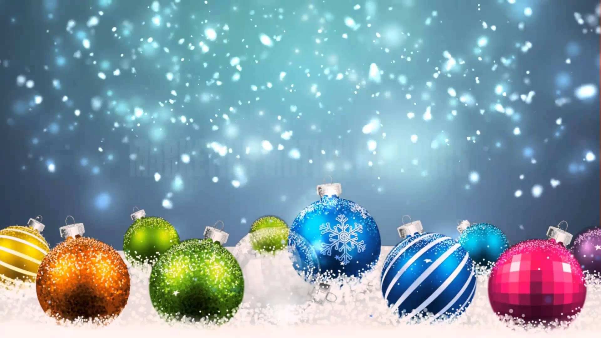 Winter-Christmas Motion Backgrounds - YouTube