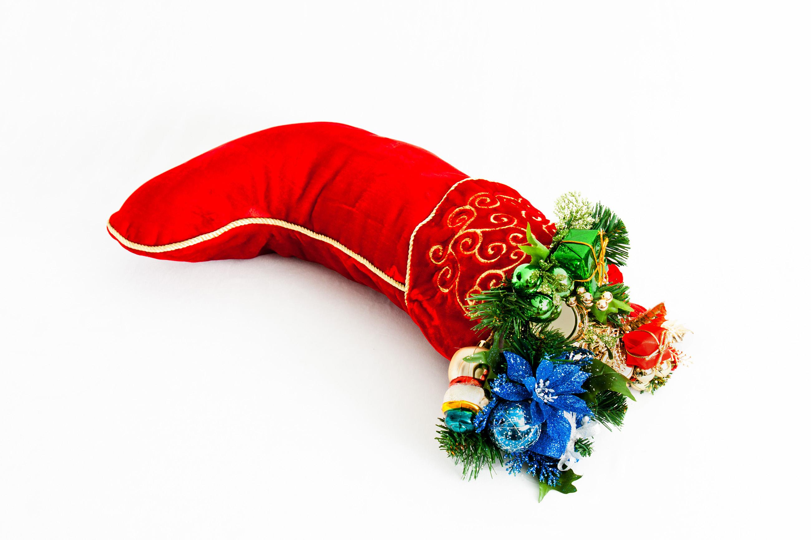 Christmas, Boot, Season, Xmas, Wrapping, HQ Photo